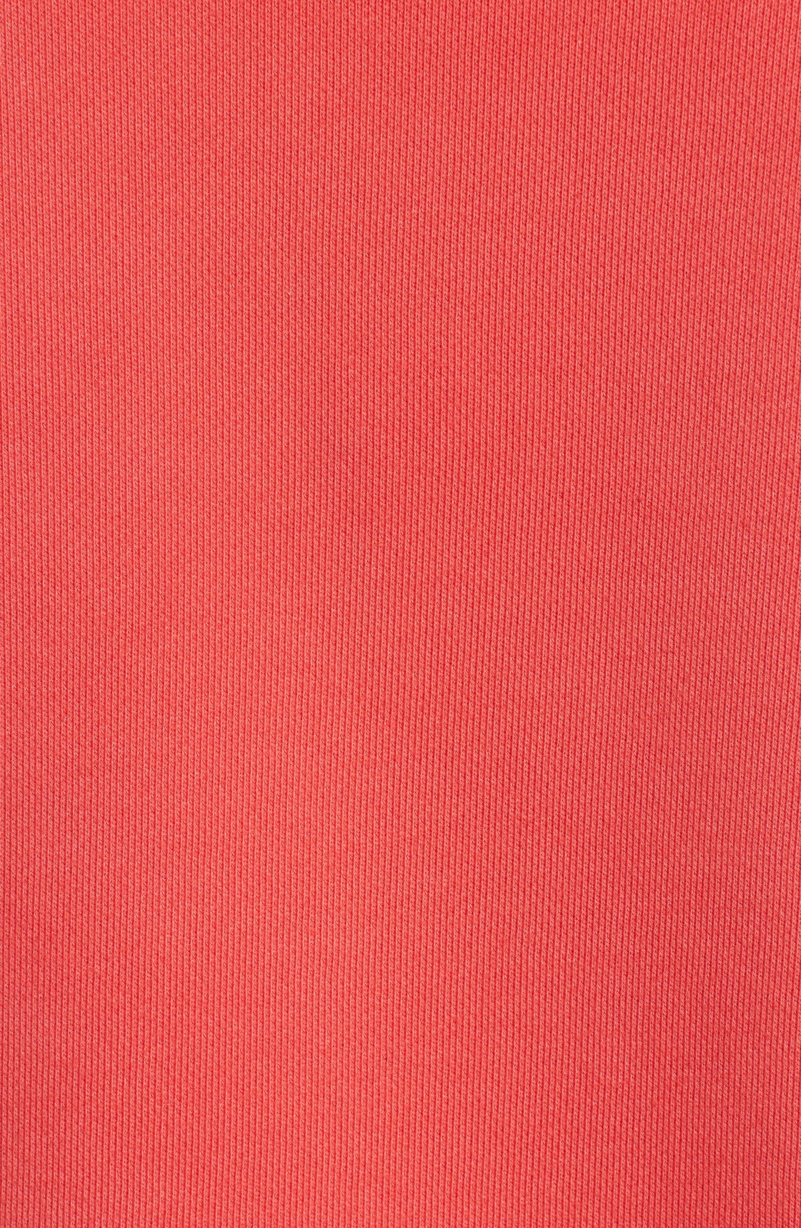 Mickey Shrunken Sweatshirt,                             Alternate thumbnail 3, color,                             Red