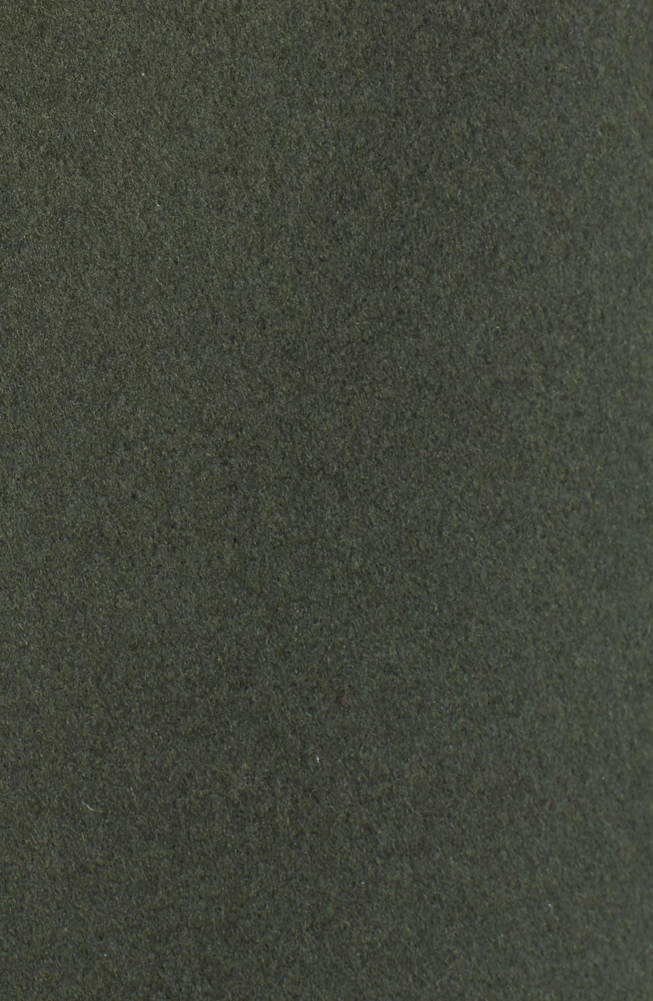 Alternate Image 3  - Fendi Wool Cape Coat with Genuine Fox Fur Pockets