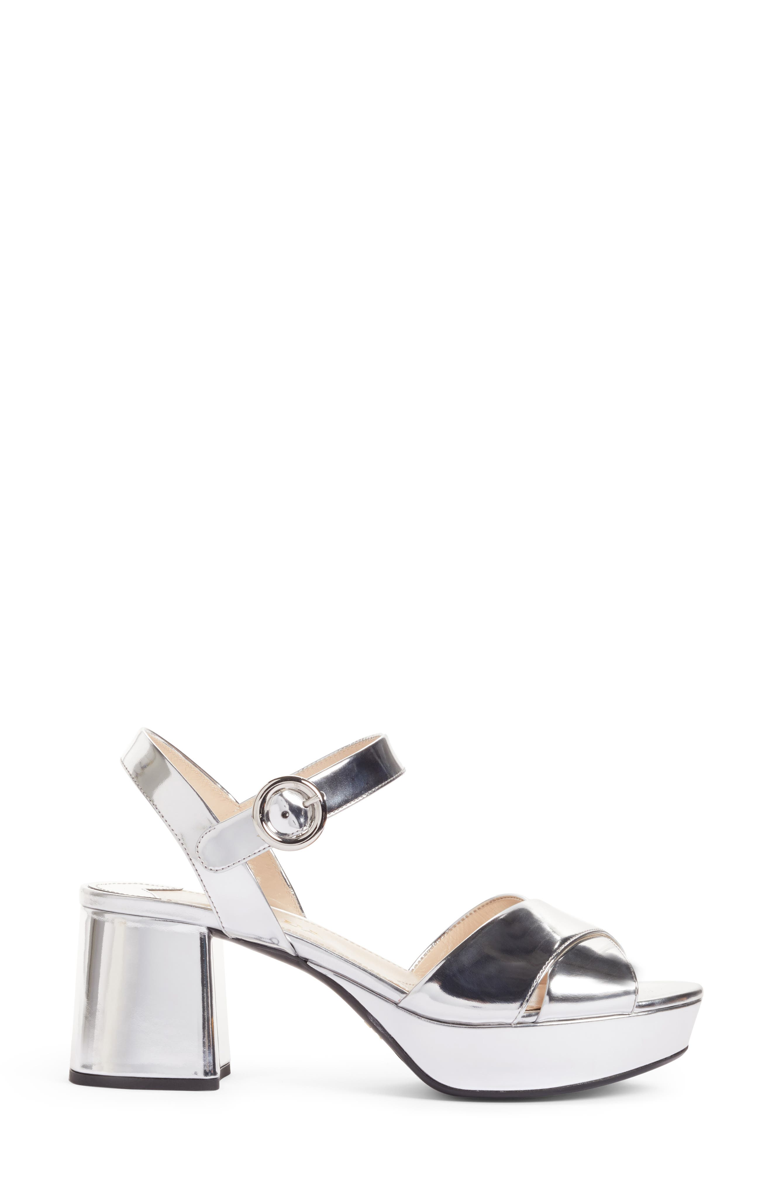 Alternate Image 3  - Prada Strappy Platform Sandal (Women)