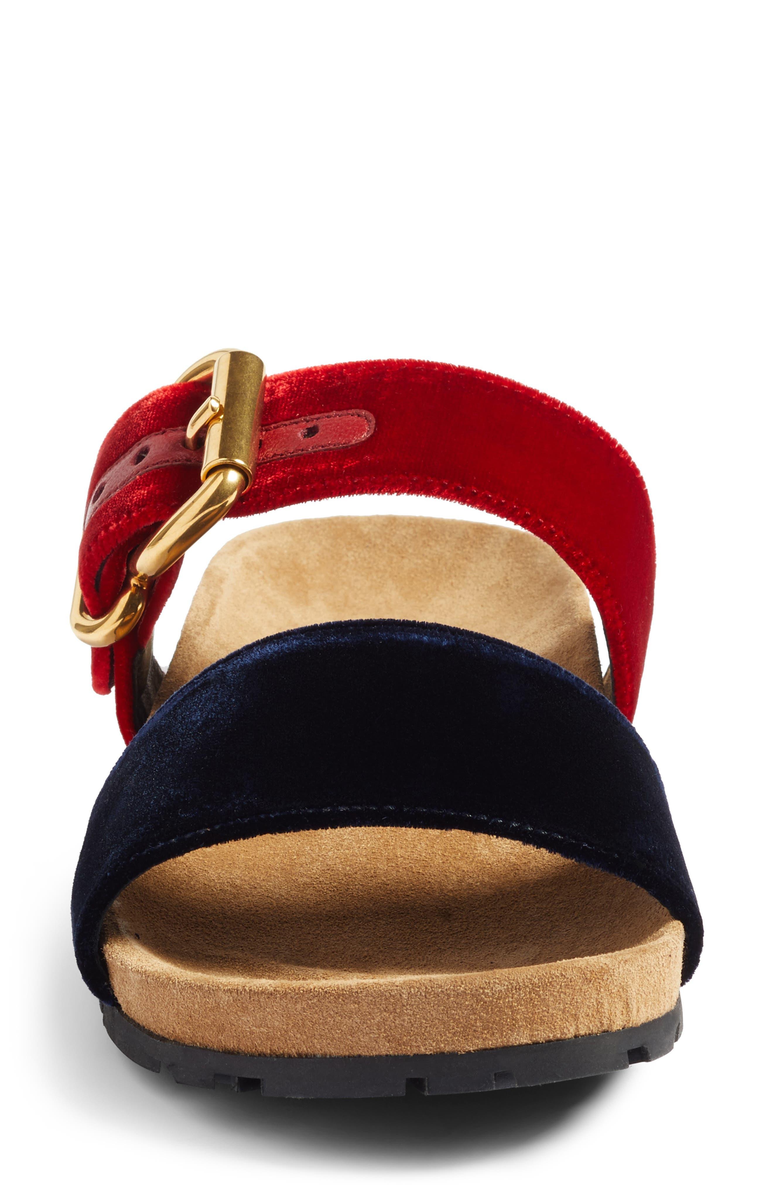 Alternate Image 4  - Prada Double Band Slide Sandal (Women)