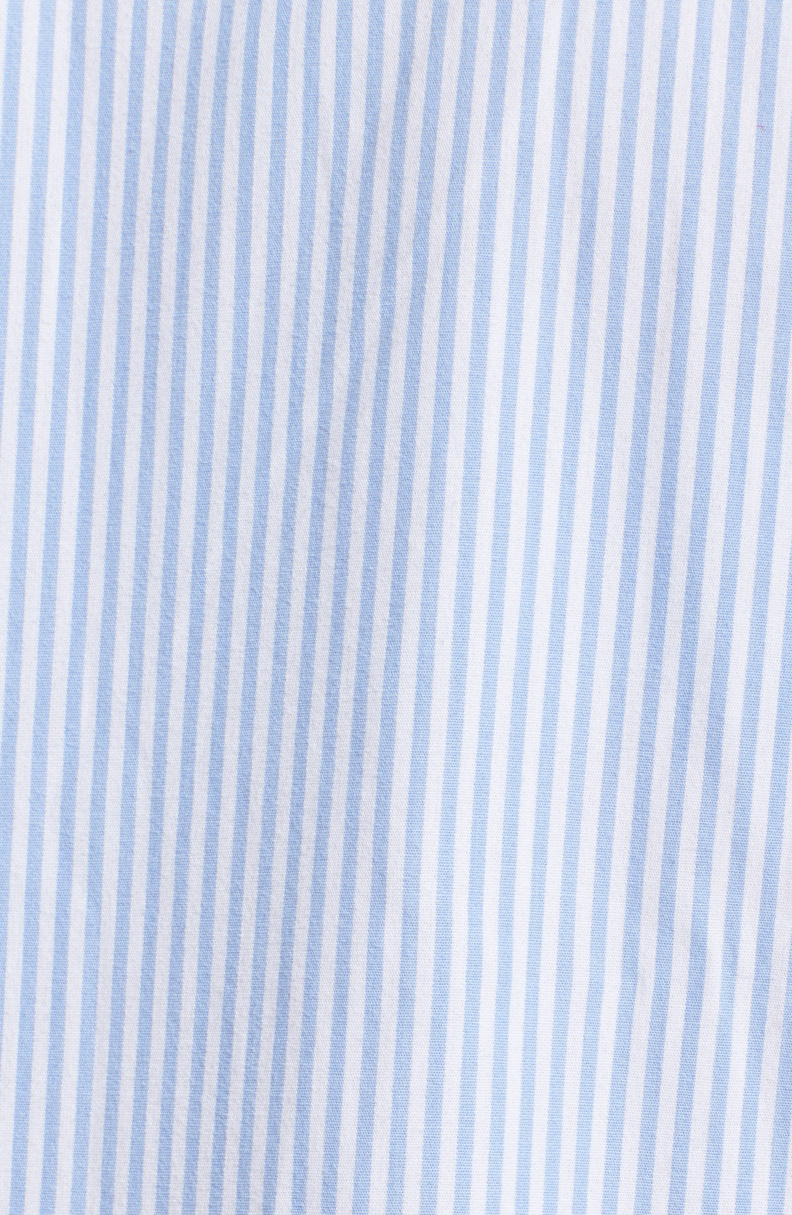 Sleep Shirt,                             Alternate thumbnail 5, color,                             Stripe French Blue/ White