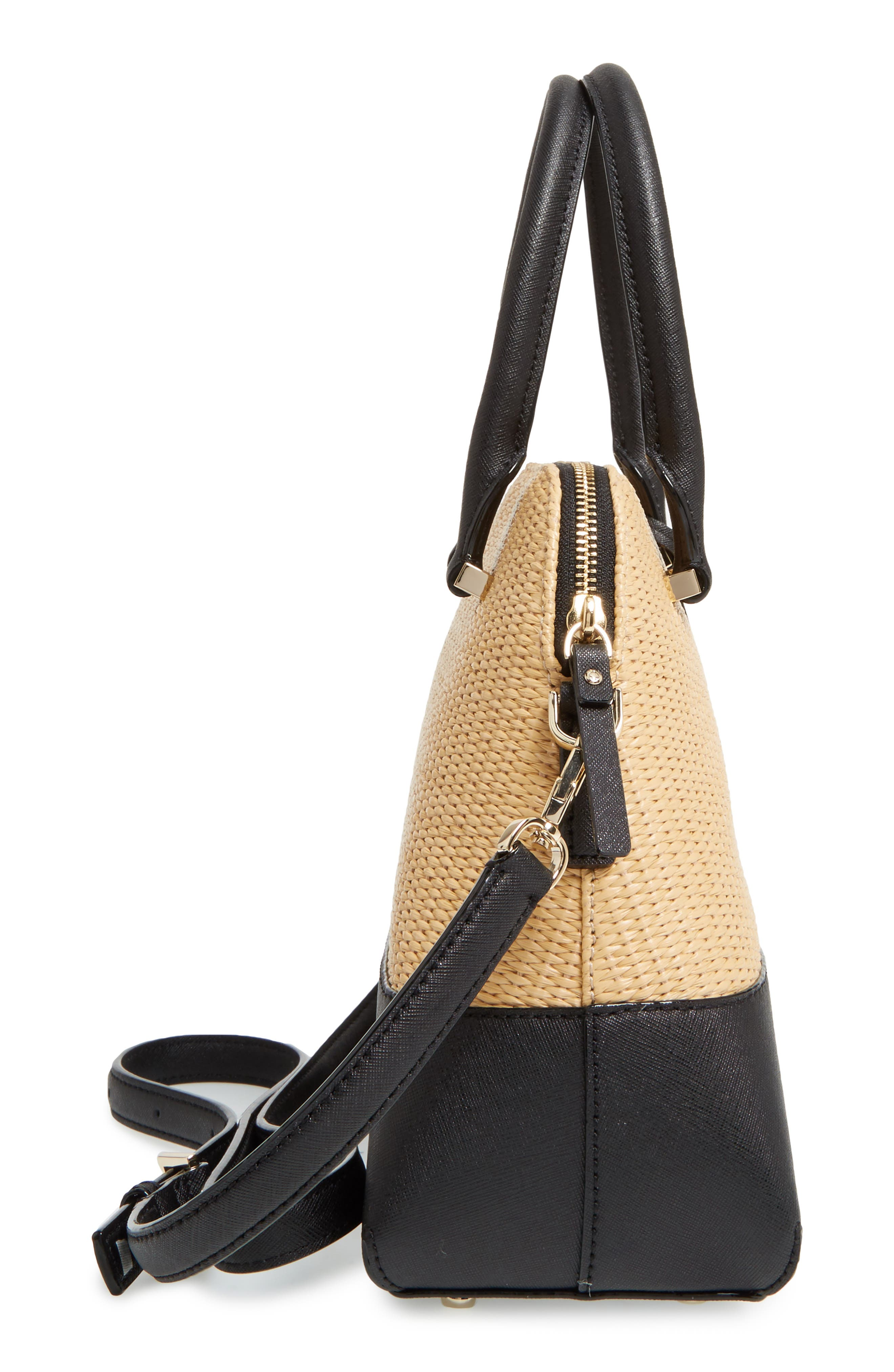 Alternate Image 5  - kate spade new york cameron street straw - maise satchel