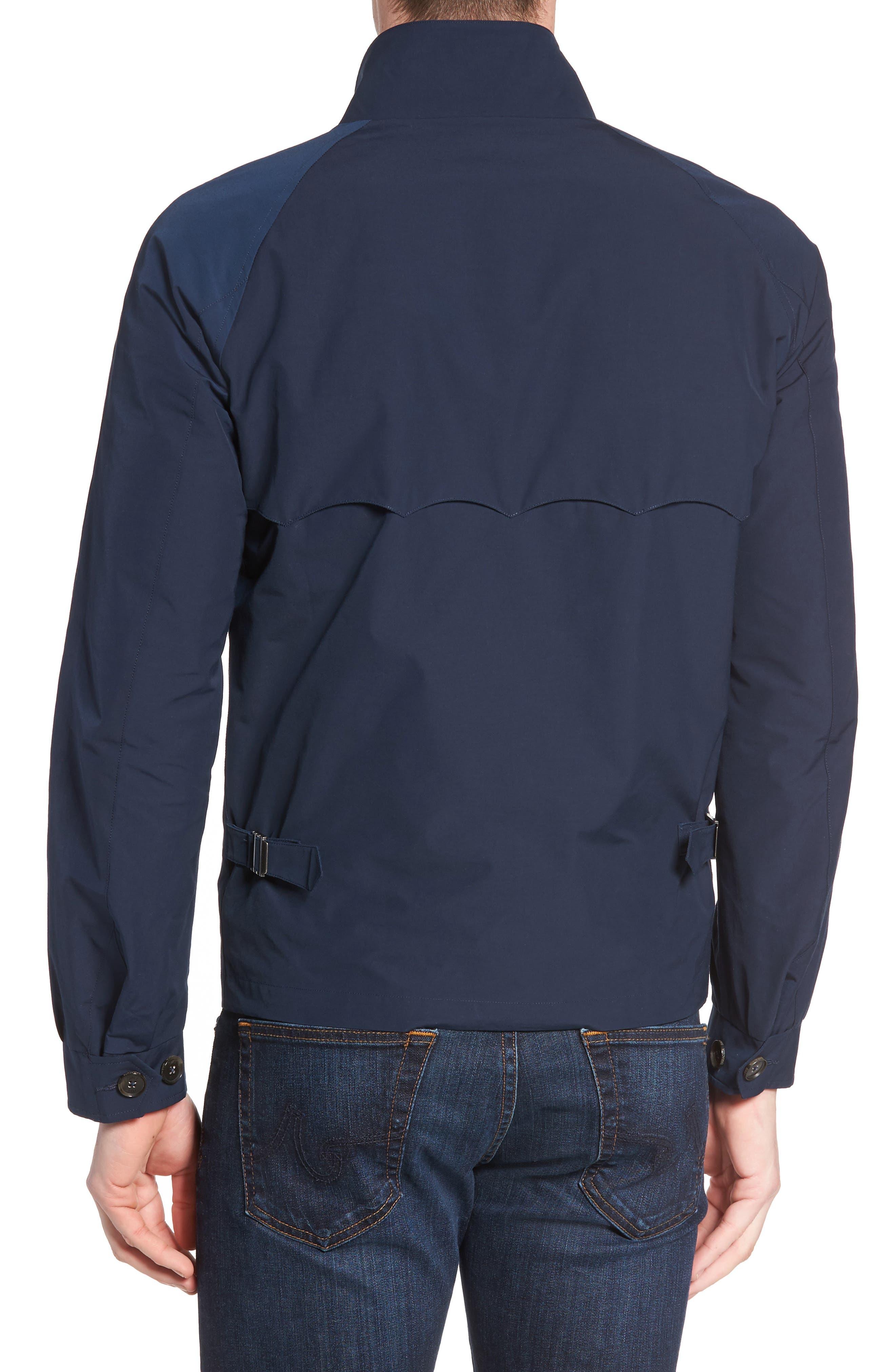 G4 Water Repellent Harrington Jacket,                             Alternate thumbnail 2, color,                             Navy