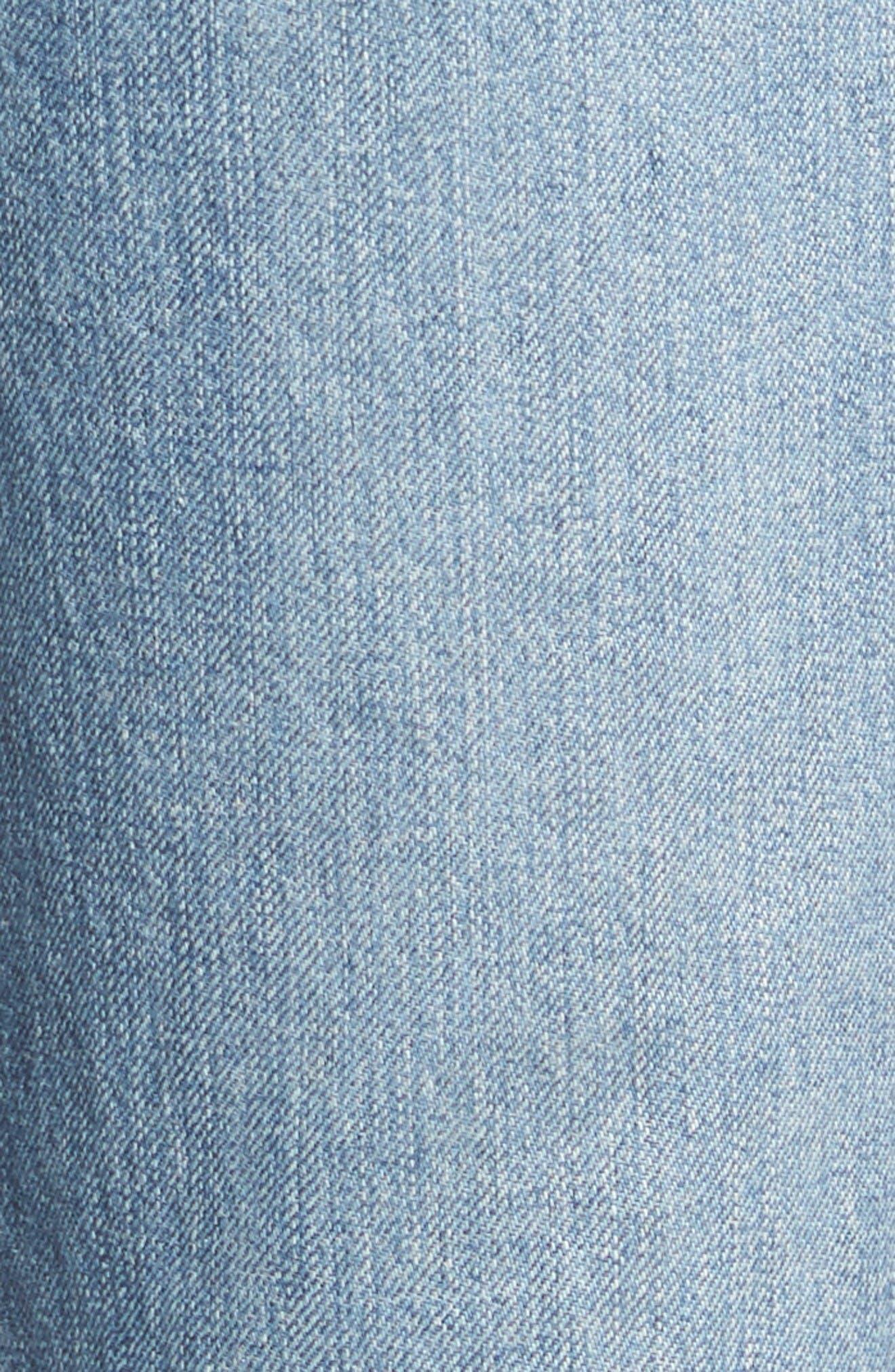 Alternate Image 5  - AG Leah Linen Overalls