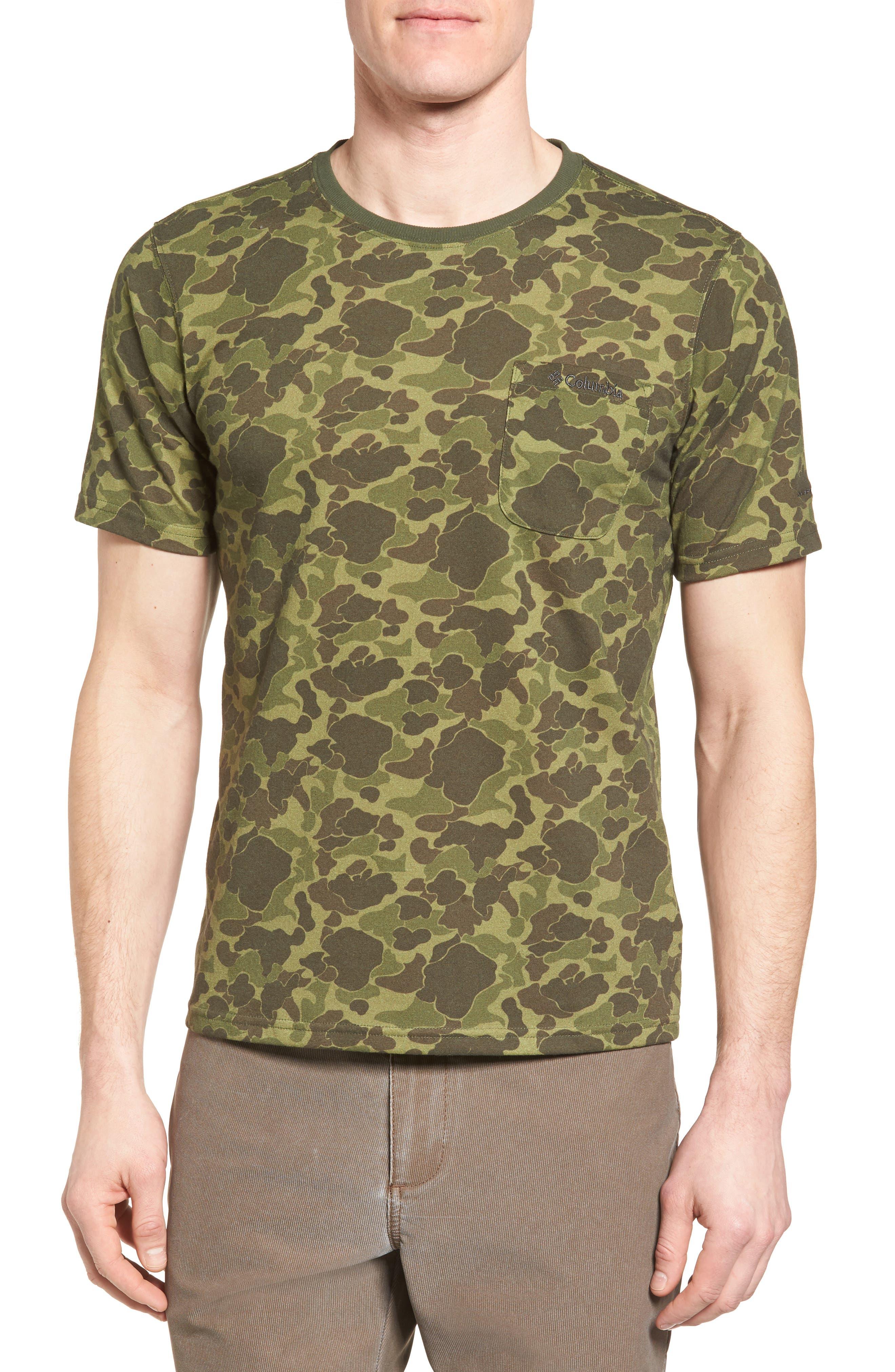 Columbia Polar Pioneer Print Pocket T-Shirt