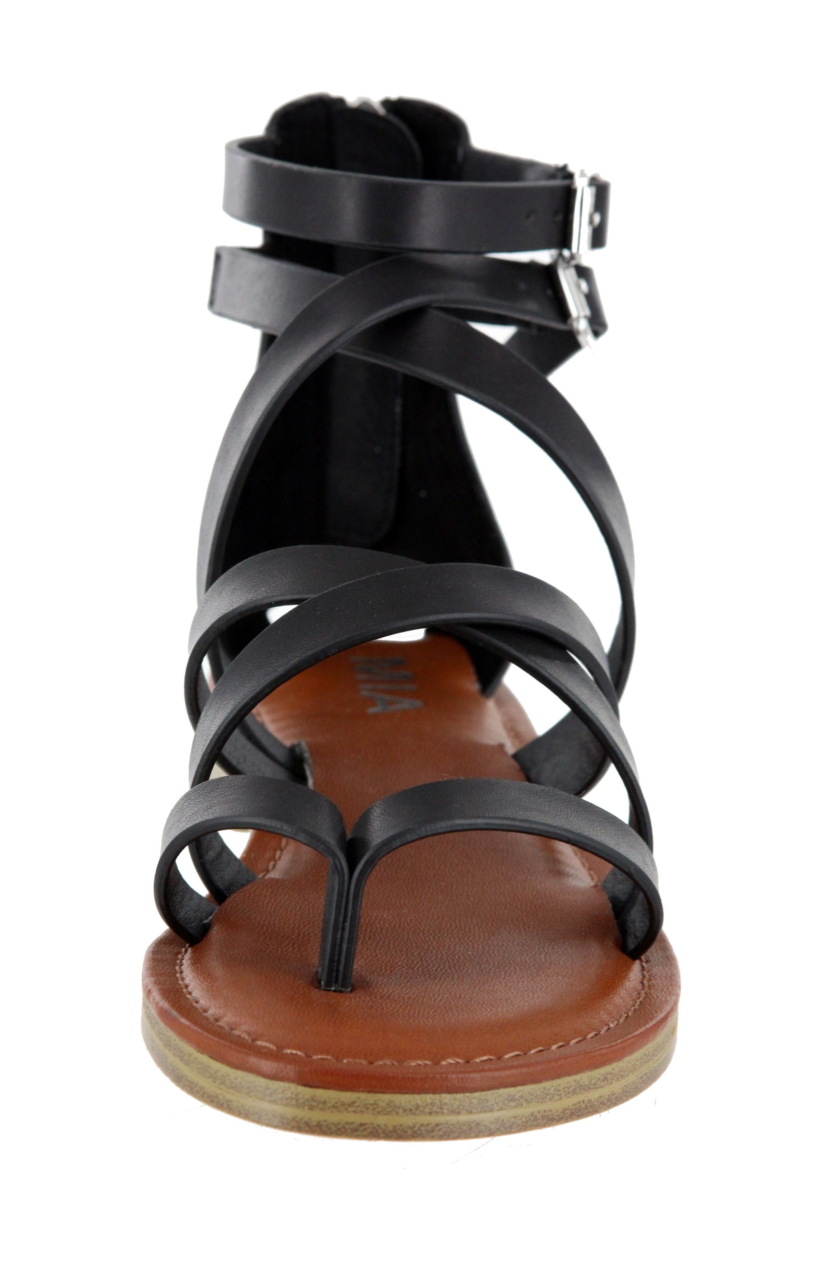 Alternate Image 4  - MIA Agitha Gladiator Sandal (Women)