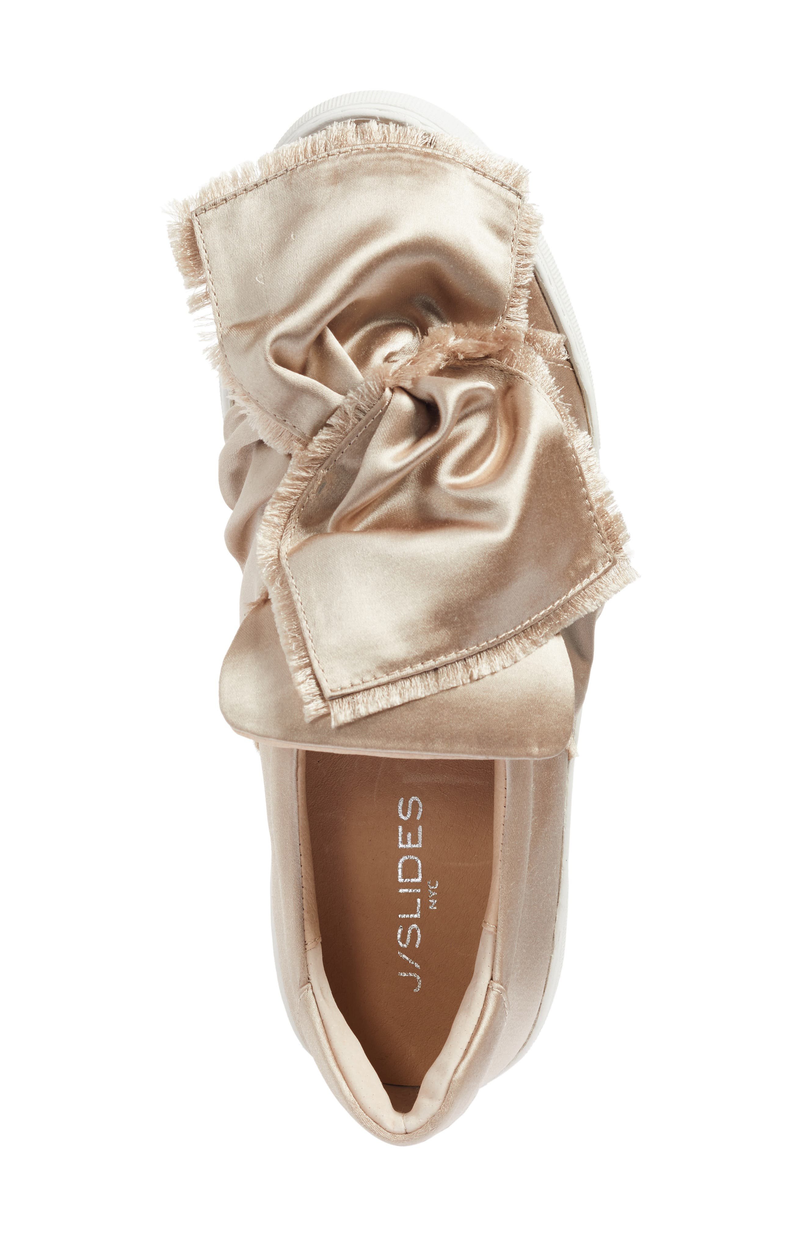 Alternate Image 5  - JSlides Azzura Bow Slip-On Sneaker