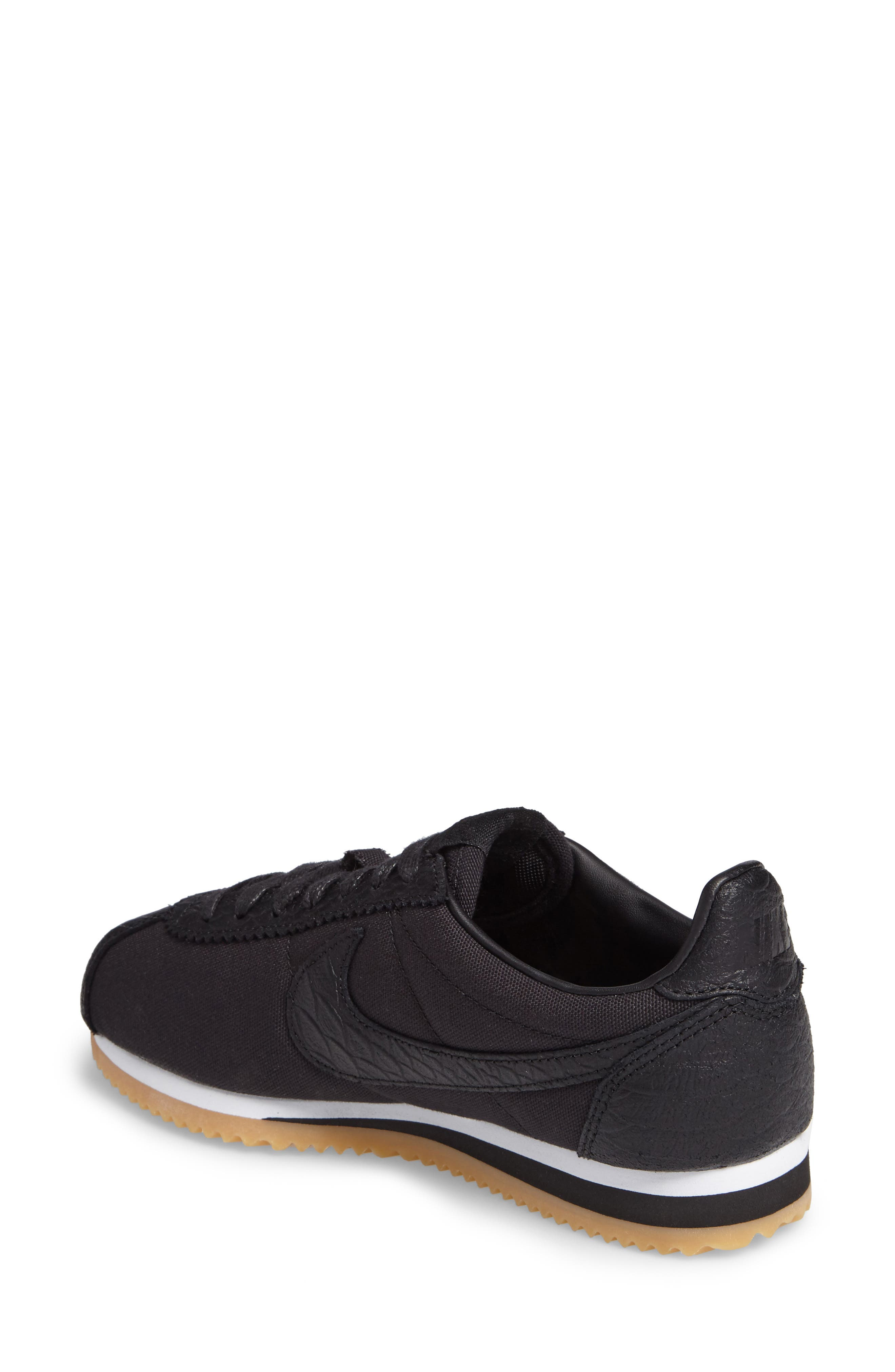 Alternate Image 2  - Nike Classic Cortez SE Sneaker (Women)
