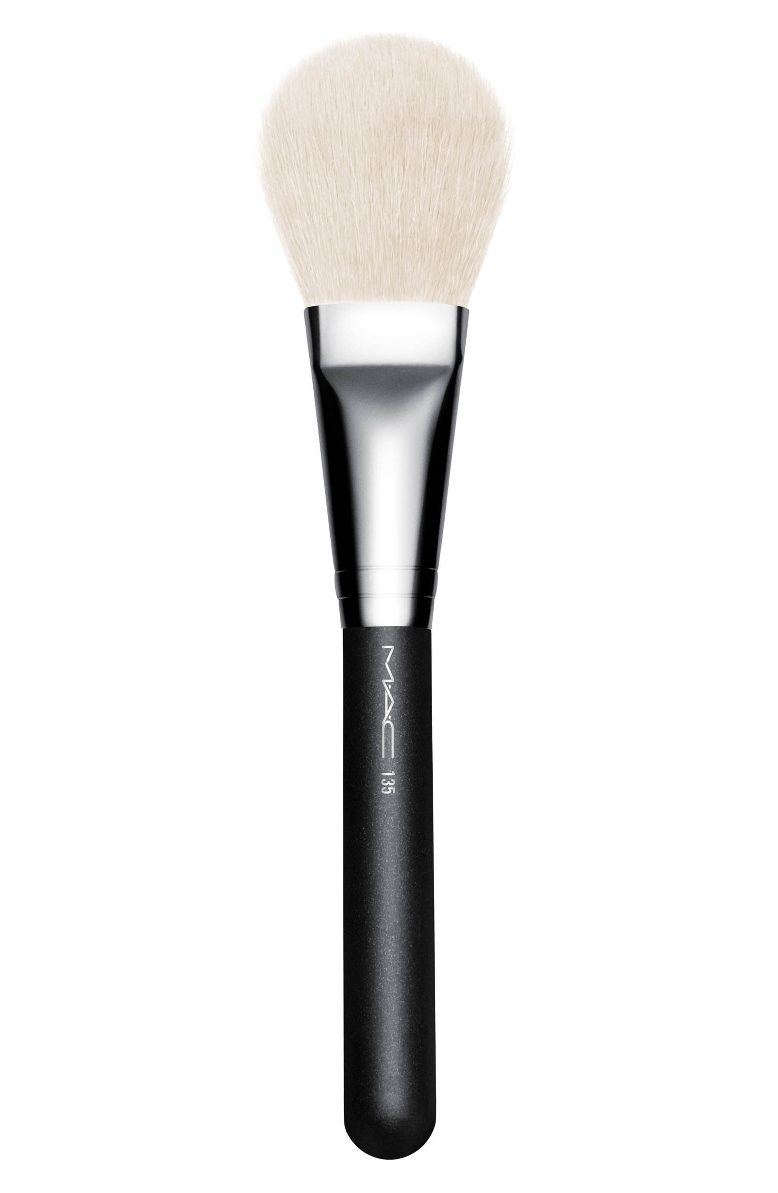 MAC 135 Large Flat Powder Brush,                         Main,                         color, No Color