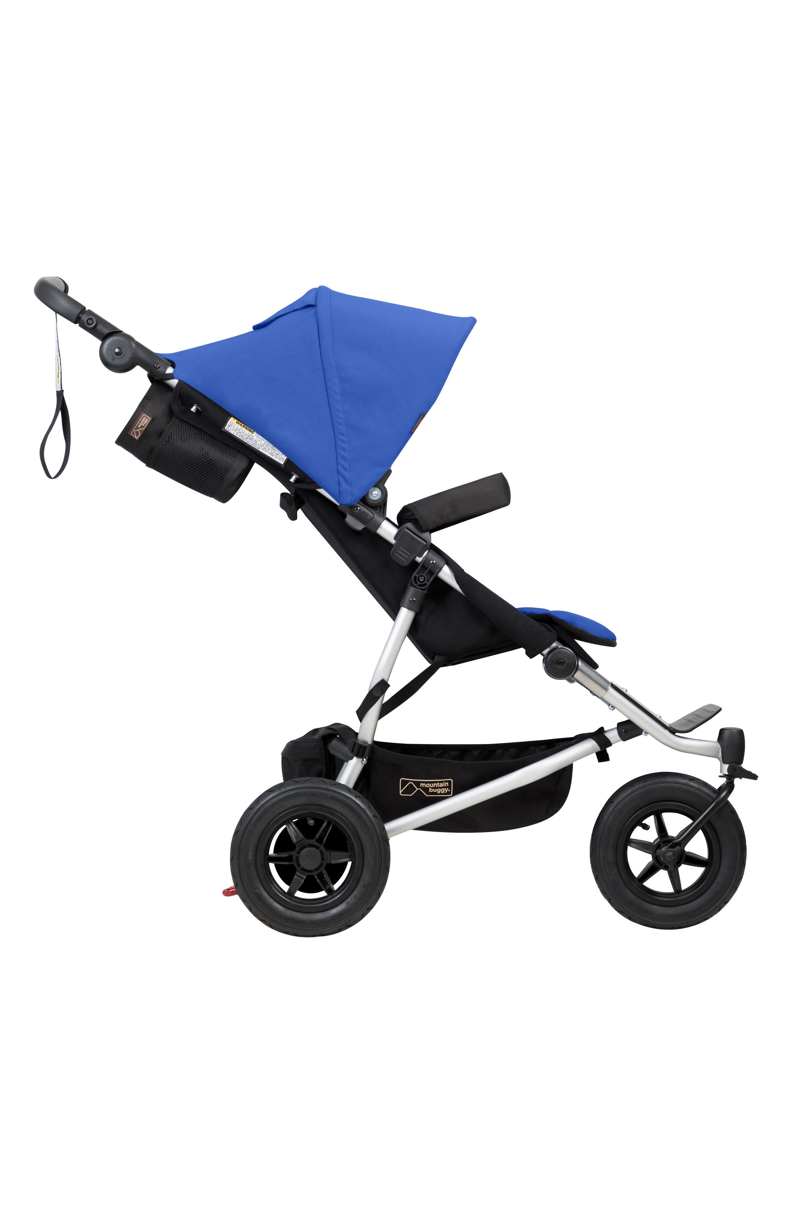 2017 Duet Compact Side by Side Double Stroller,                             Alternate thumbnail 3, color,                             Marine