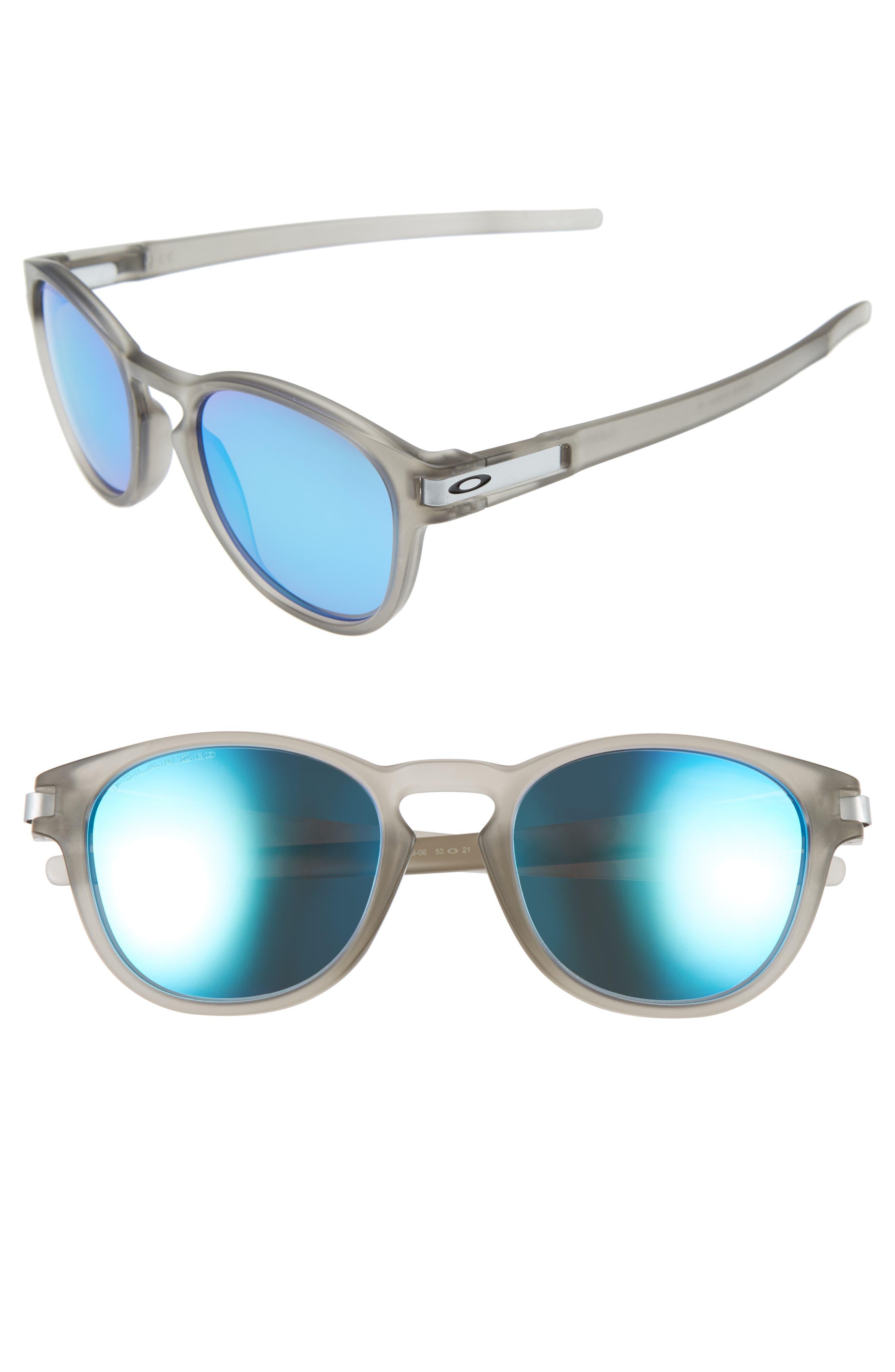 Oakley Latch 53mm Polarized Sunglasses