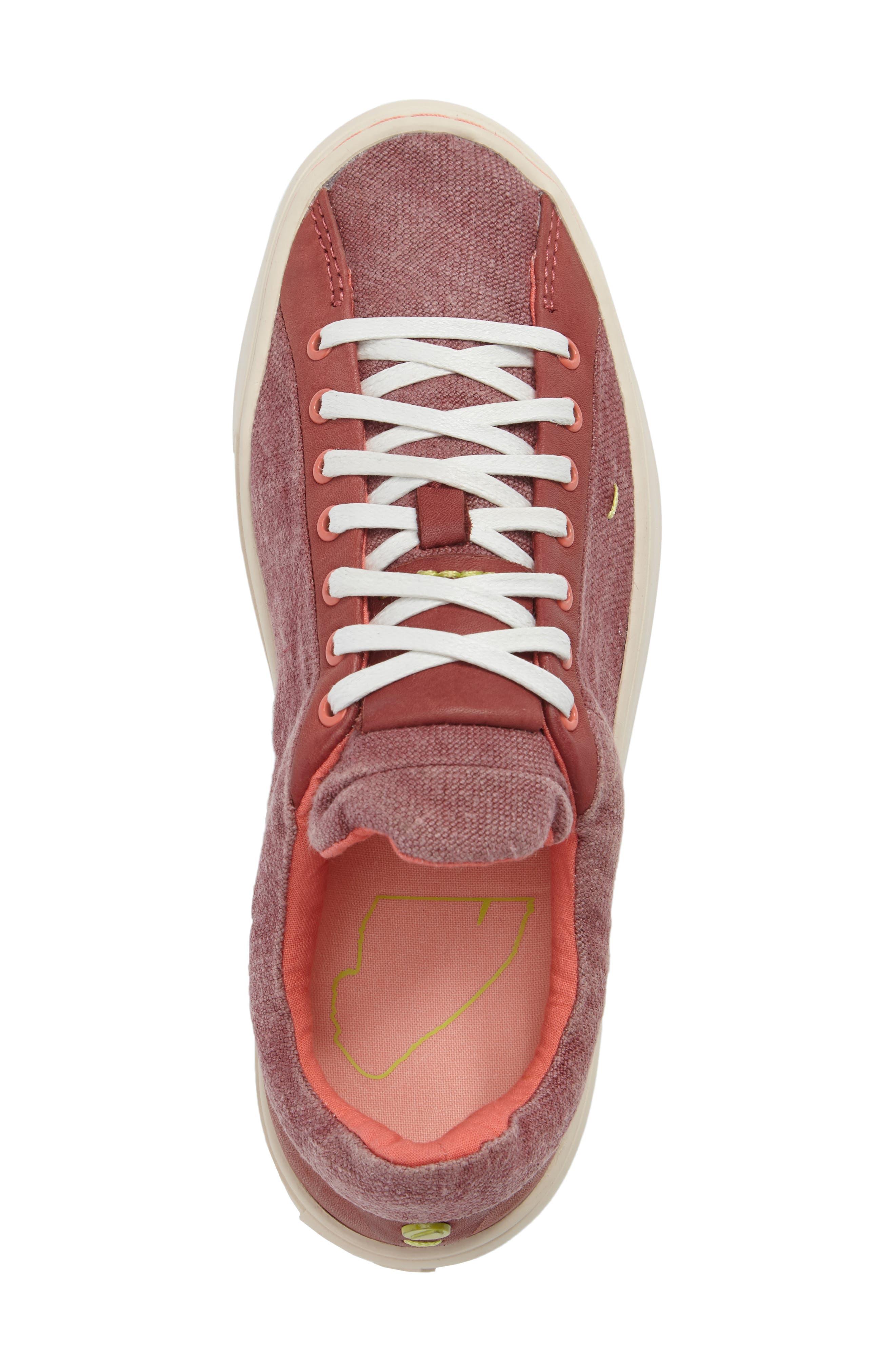Somerville Sneaker,                             Alternate thumbnail 5, color,                             Sandalwood Fabric