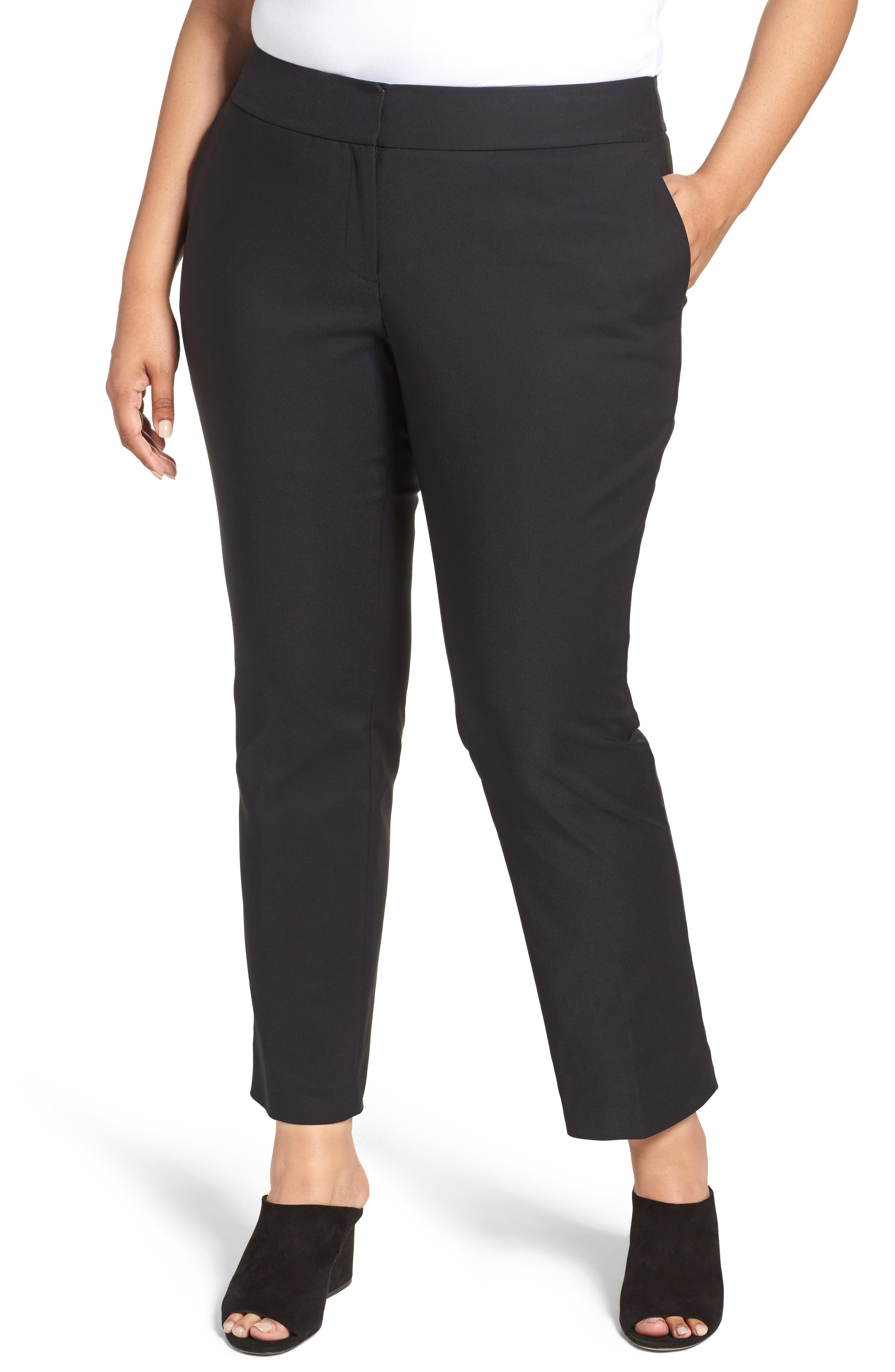 Vince Camuto Wide Leg Trousers (Plus)