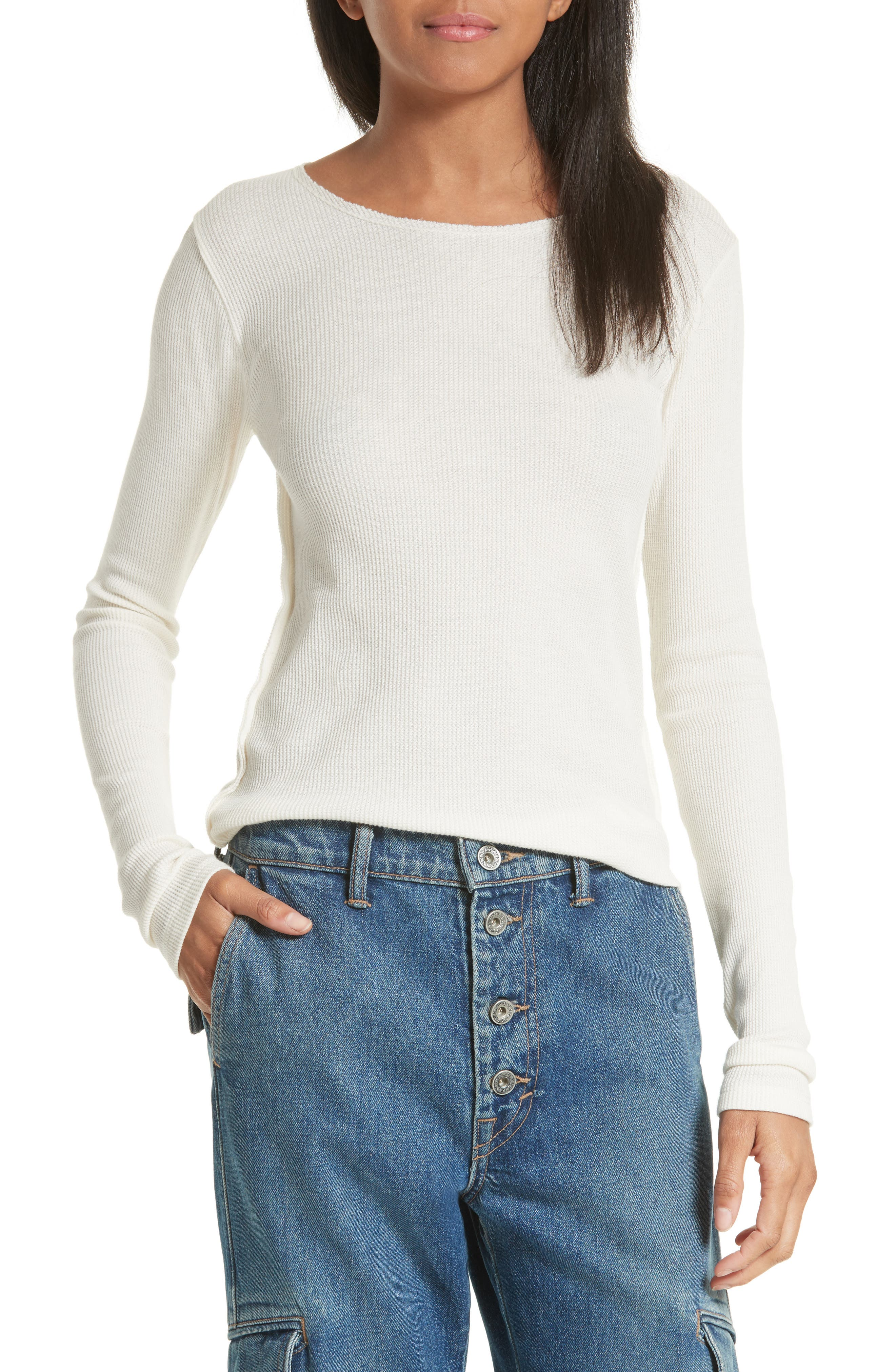 Vince Thermal Pima Cotton Tee