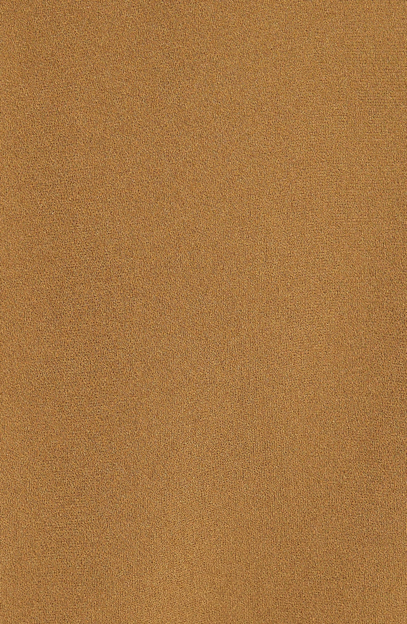 Ruffle Sleeve Dolman Top,                             Alternate thumbnail 5, color,                             Loden