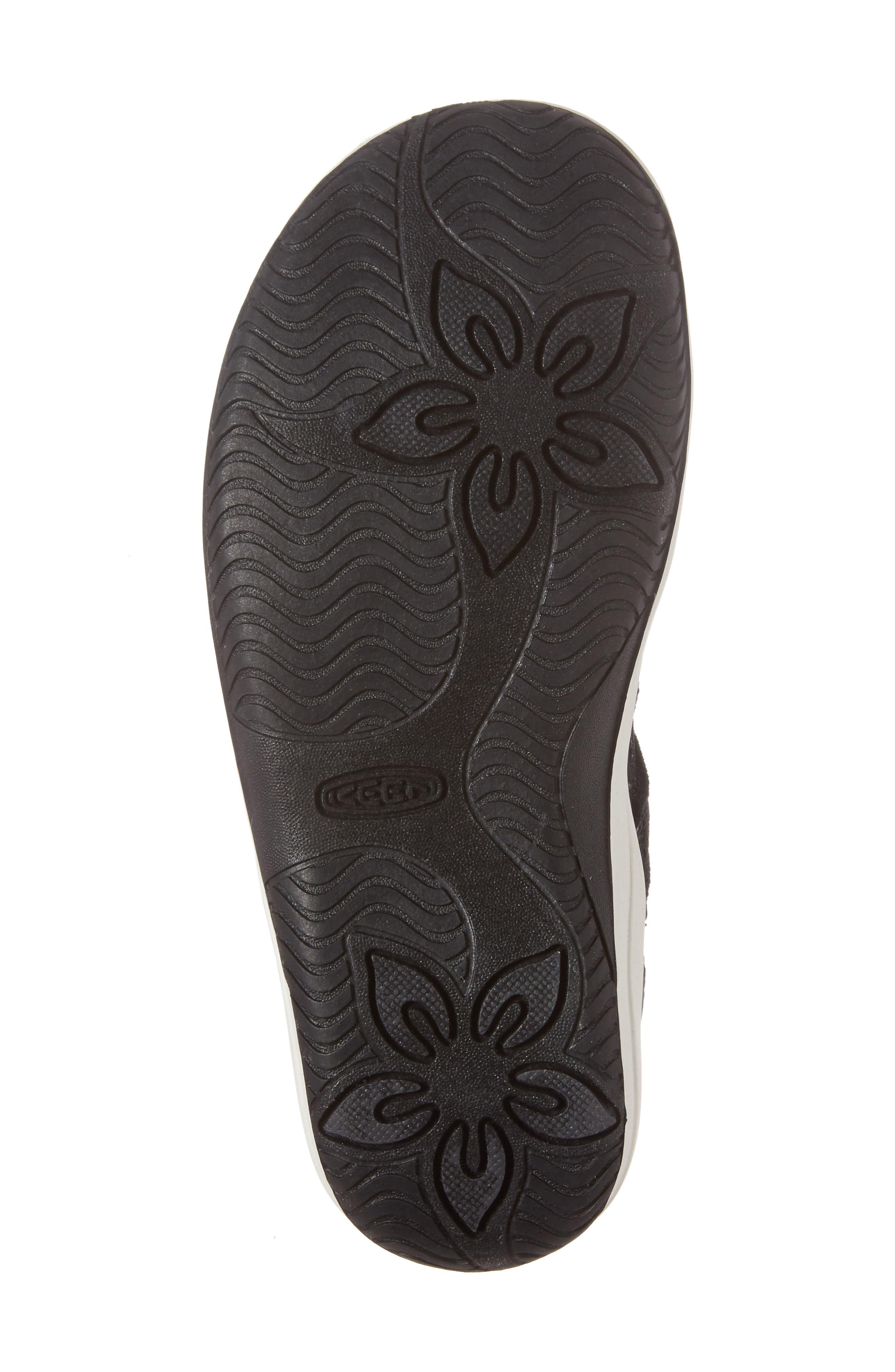 Hadley Adventure Water Friendly Sandal,                             Alternate thumbnail 6, color,                             Black/ White