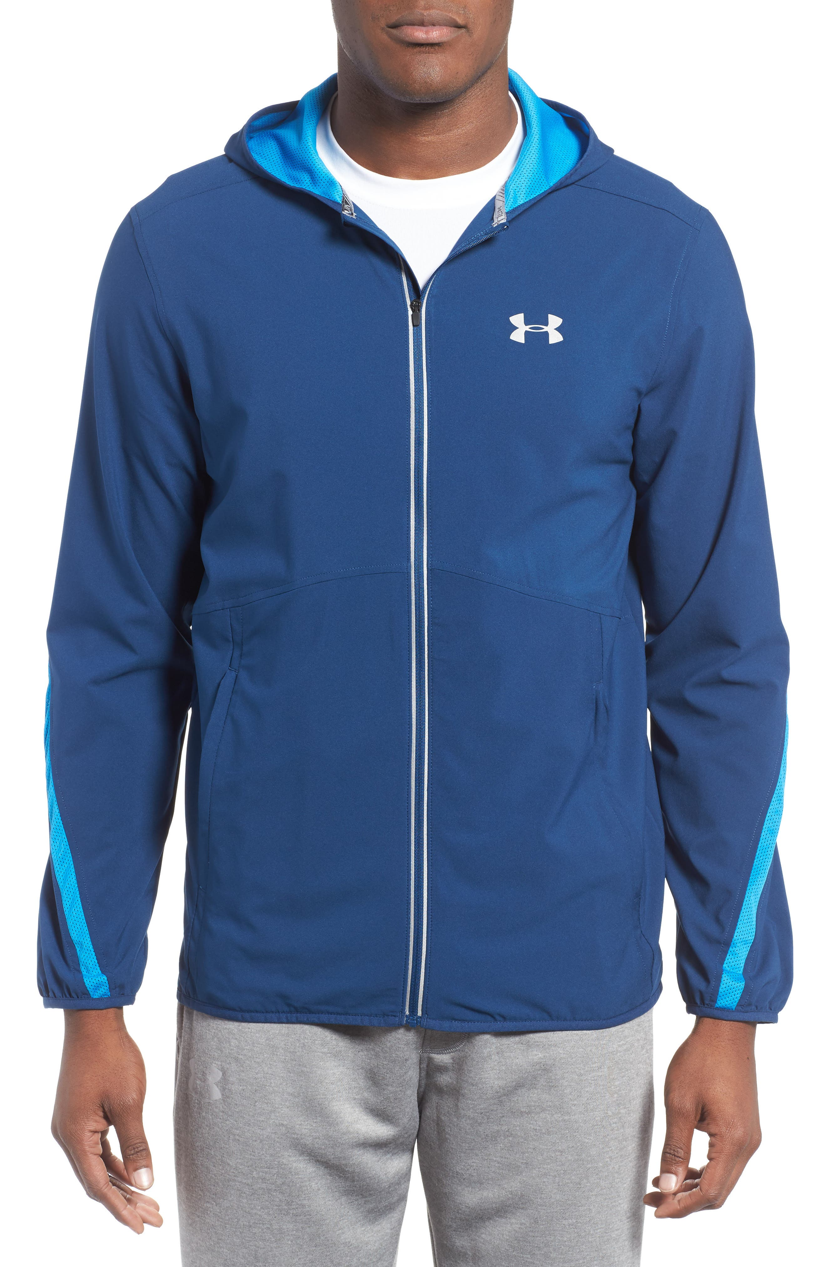 Alternate Image 1 Selected - Under Armour Run True Jacket
