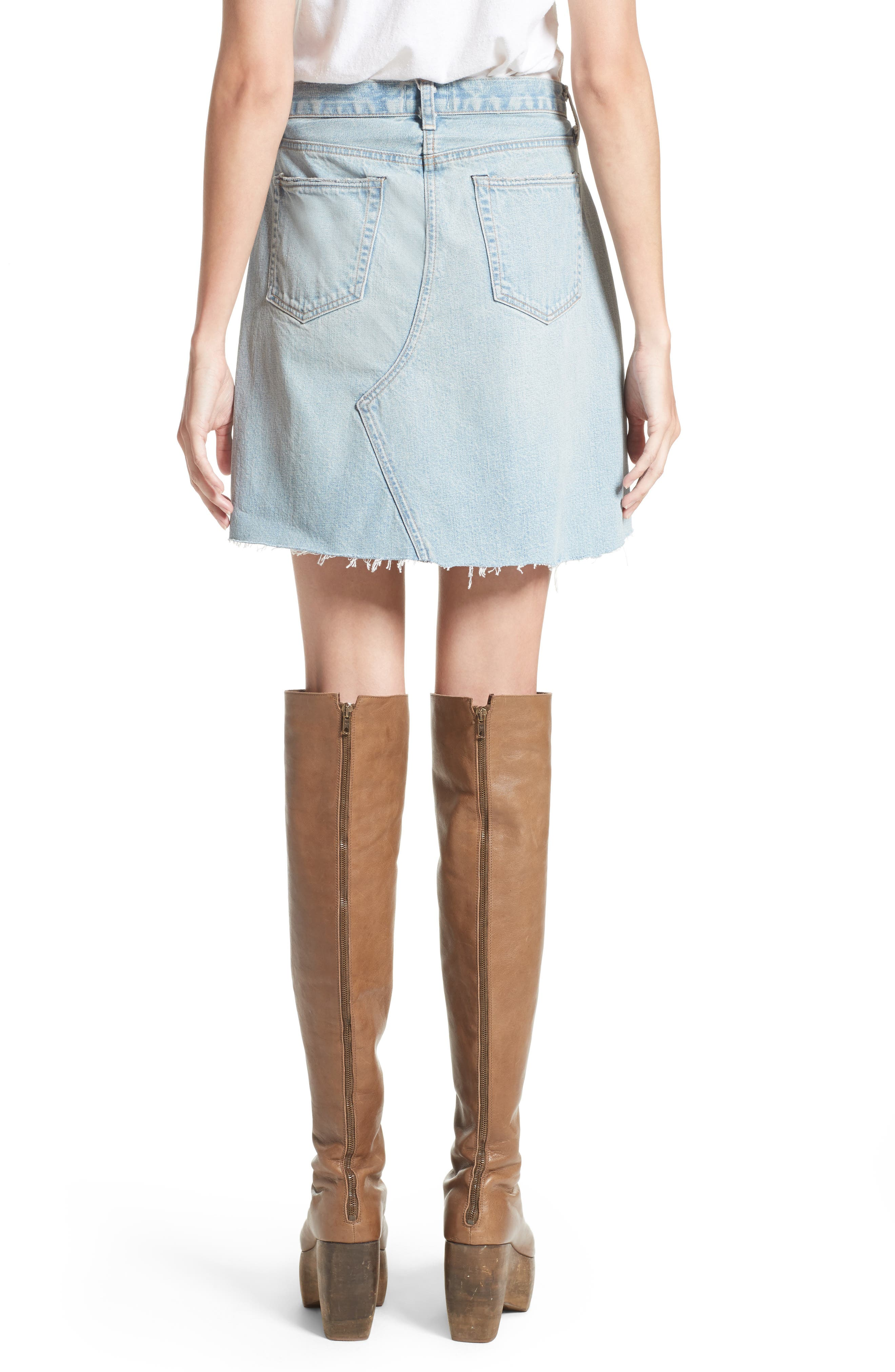 Alternate Image 2  - Simon Miller Denim Skirt (Nordstrom Exclusive)
