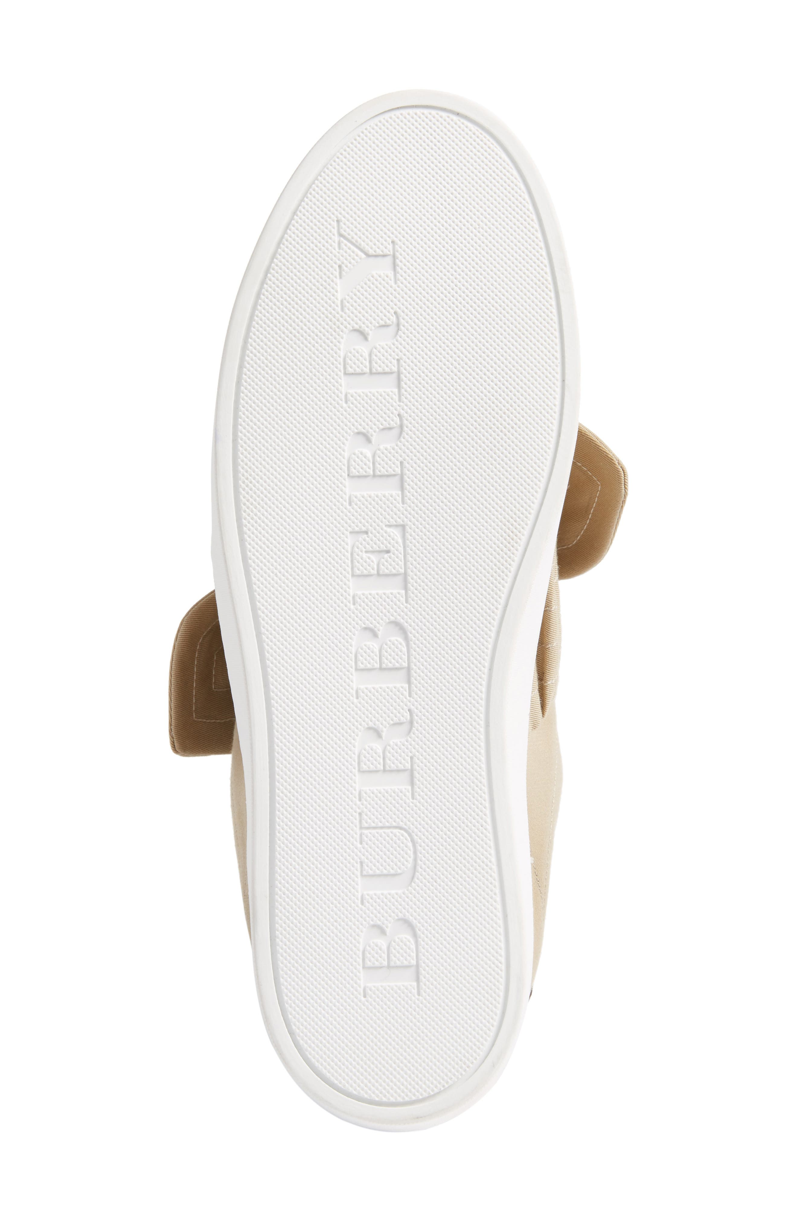 Alternate Image 6  - Burberry Knot Sneaker (Women)