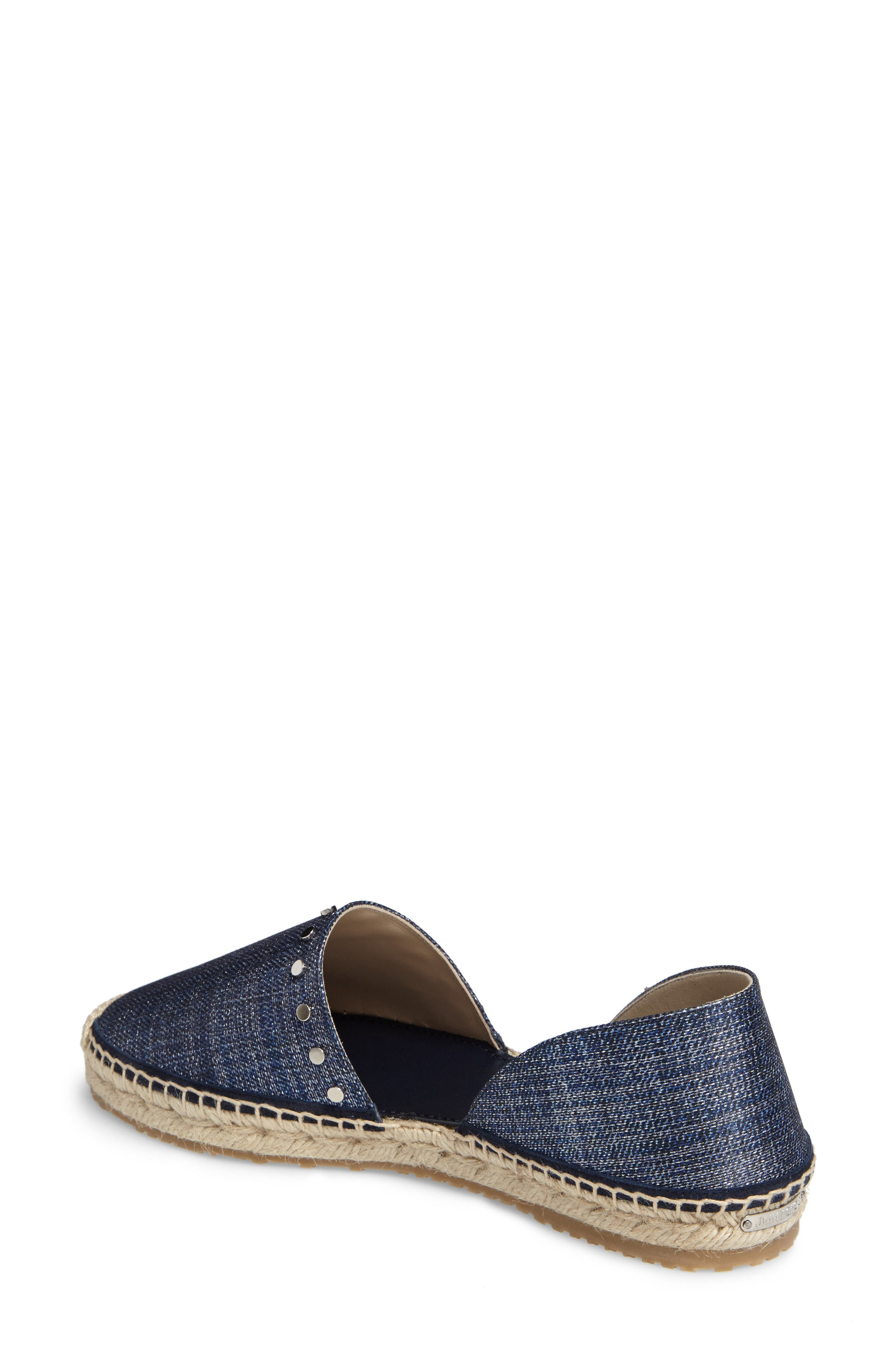 Alternate Image 2  - Jimmy Choo Split Espadrille Flat (Women)