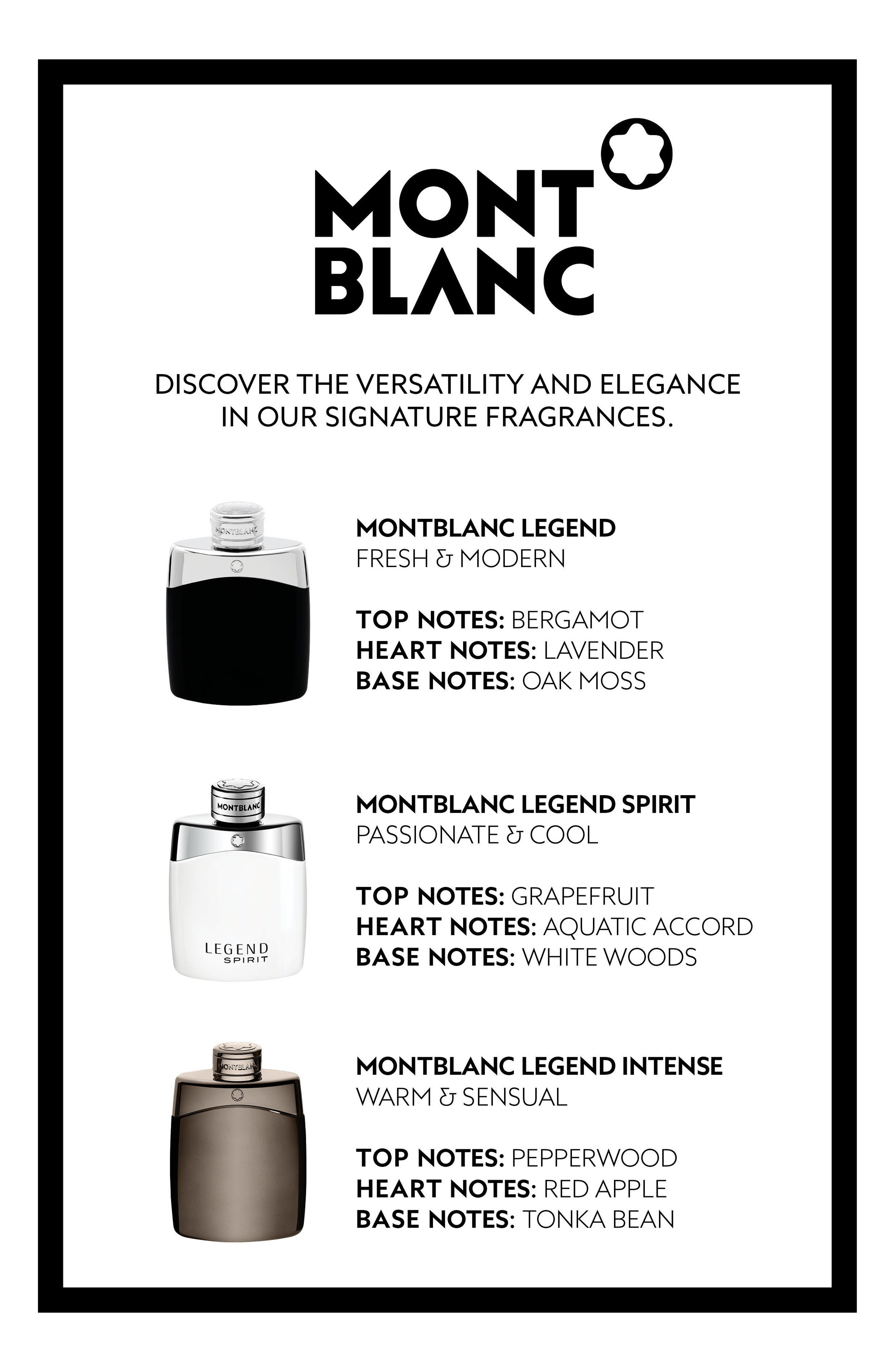 Alternate Image 2  - MONTBLANC 'Legend' Eau de Toilette