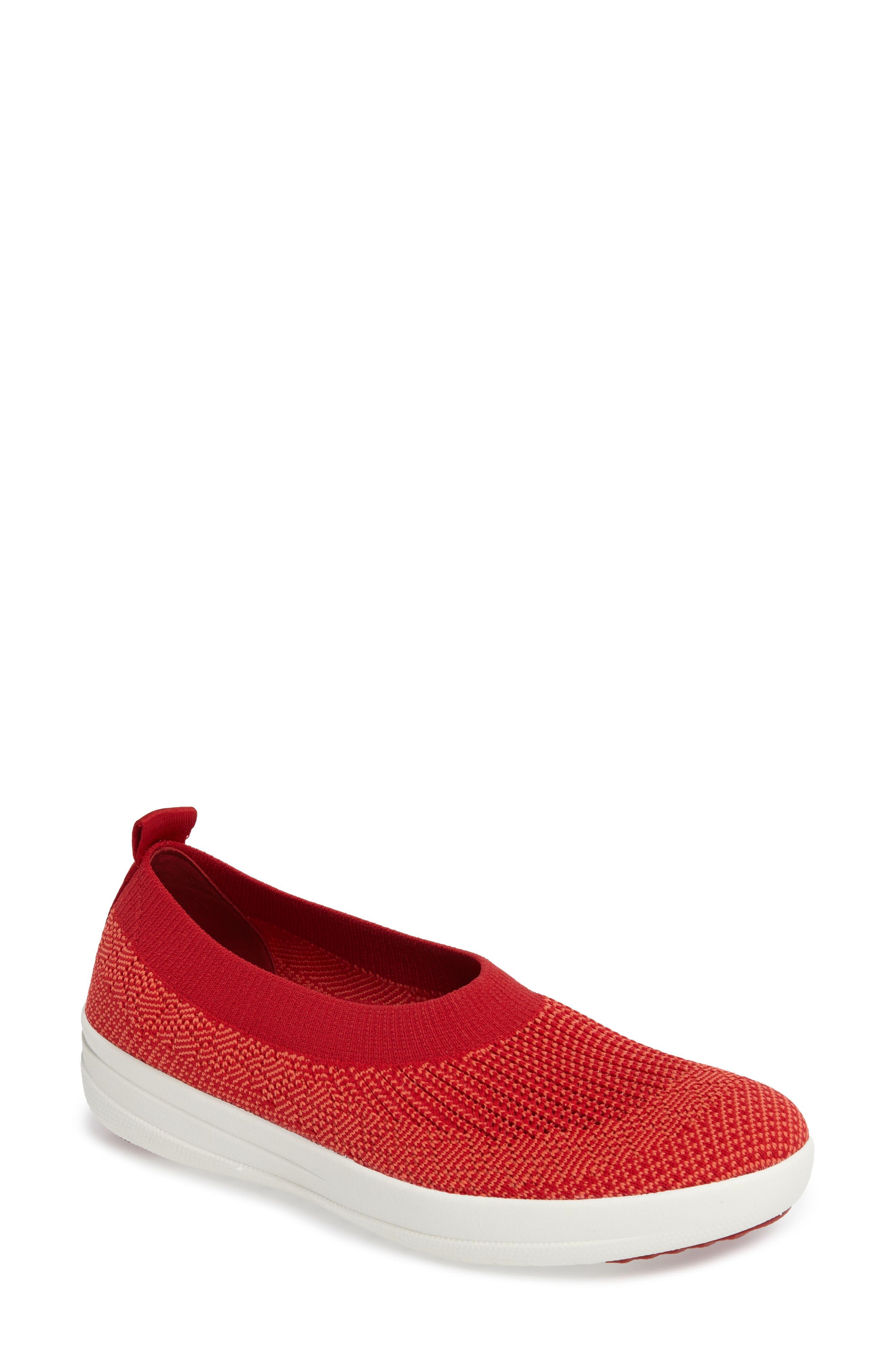 Main Image - FitFlop Uberknit Slip-On Sneaker (Women)