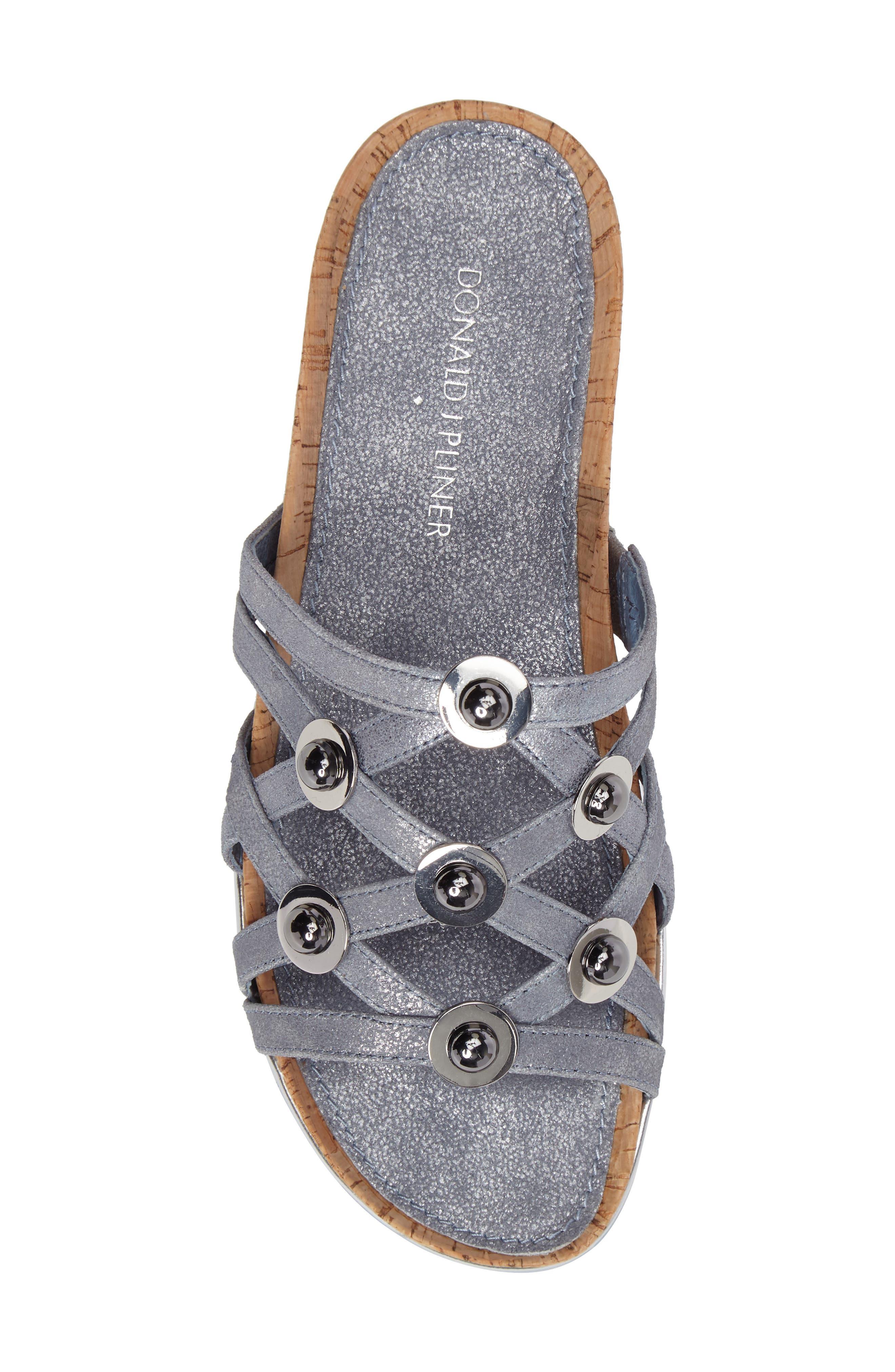 Alternate Image 4  - Donald J Pliner Chrisa Wedge Slide Sandal (Women)