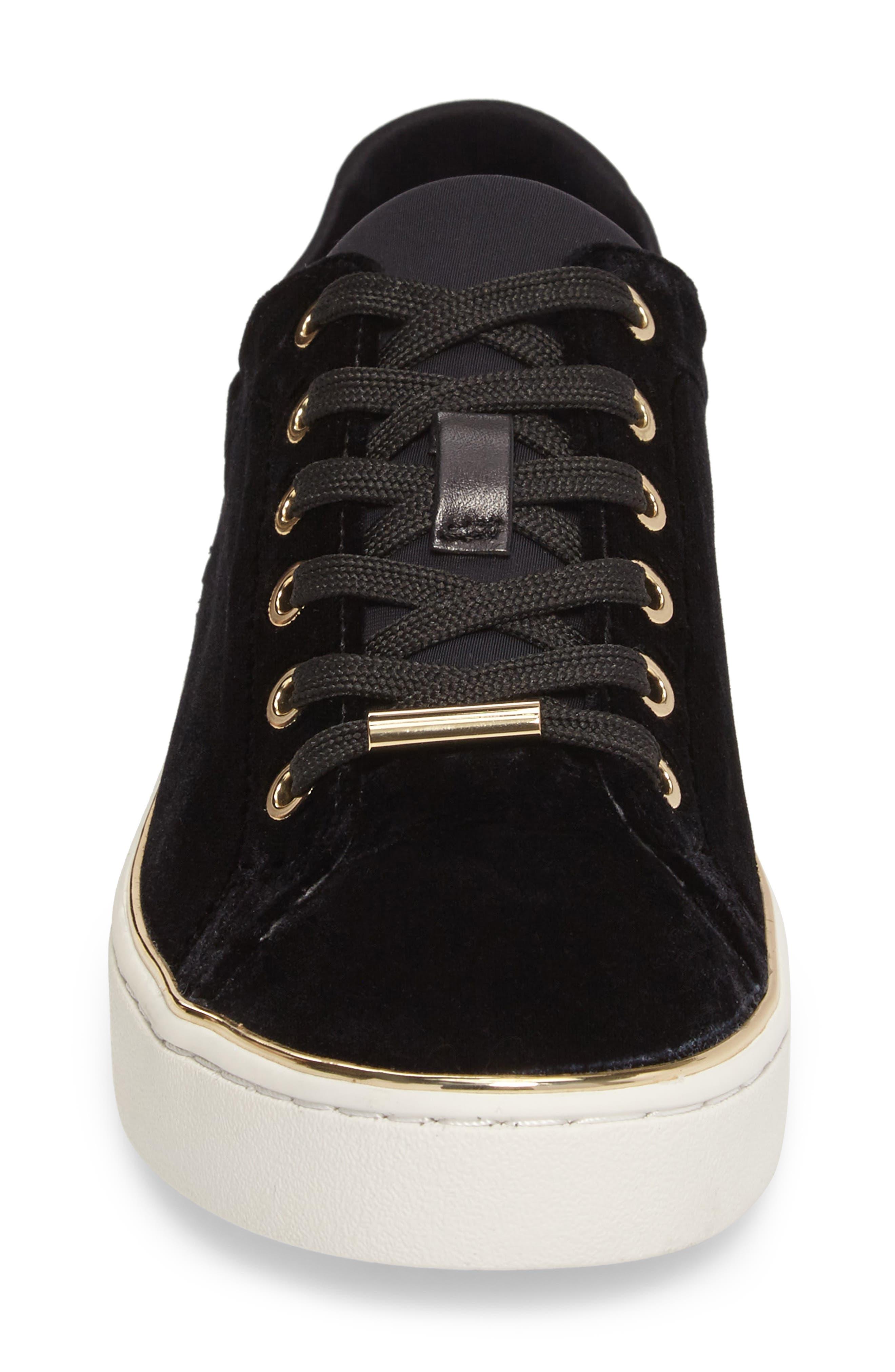 Scout Sneaker,                             Alternate thumbnail 4, color,                             Black