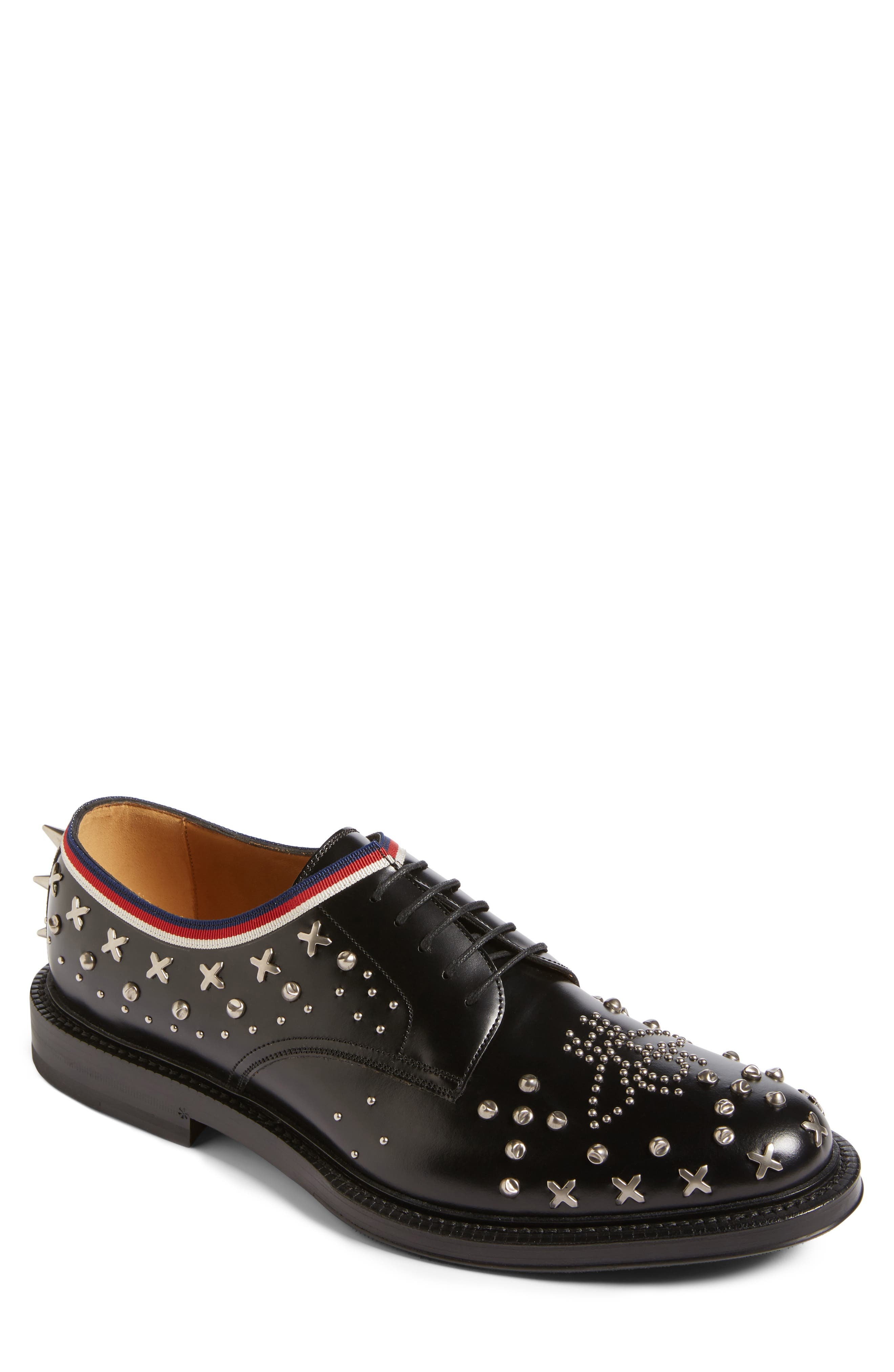 Main Image - Gucci Beyond Star Studded Derby (Men)
