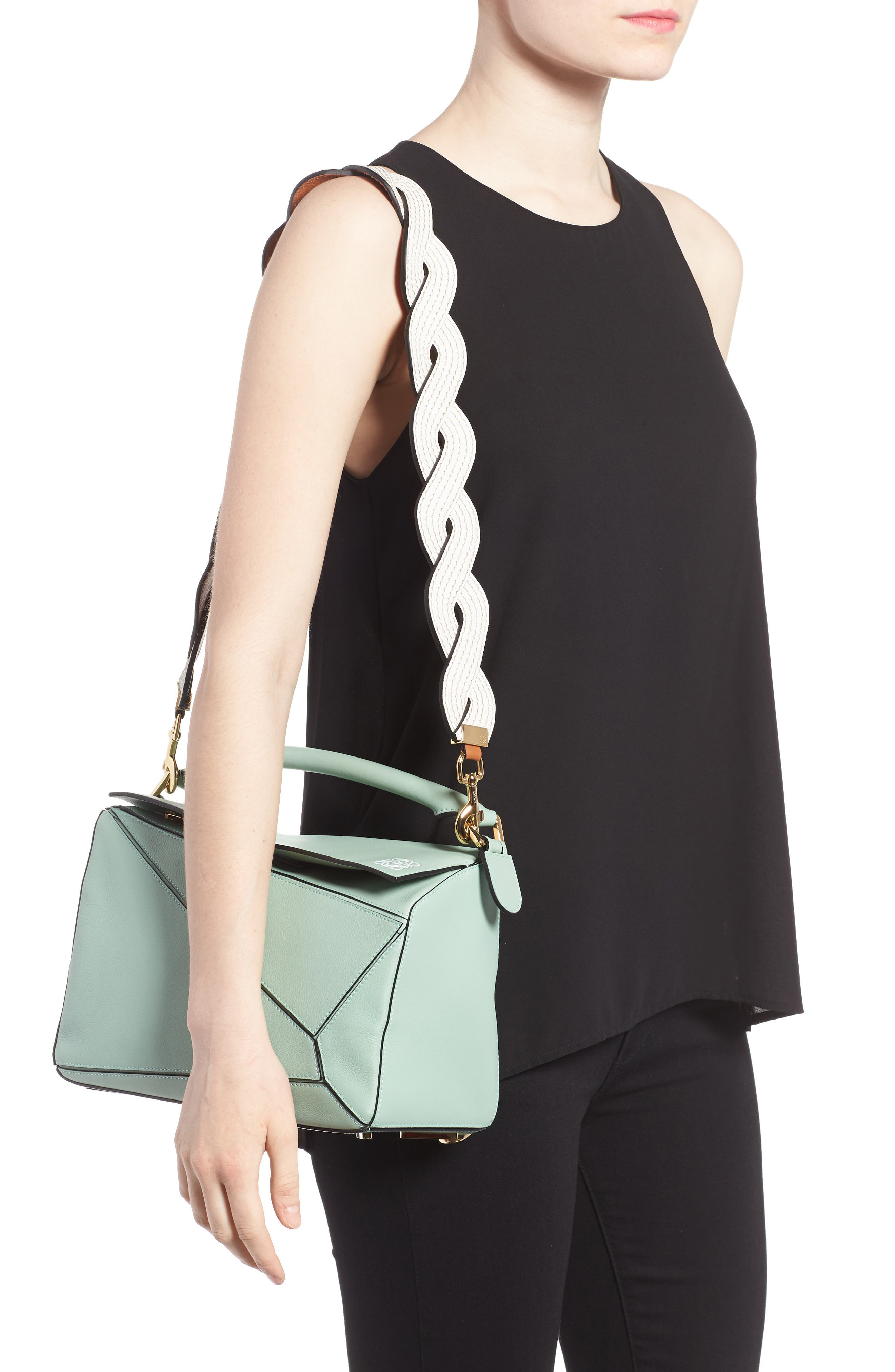 Alternate Image 2  - Loewe Leather Bag Strap