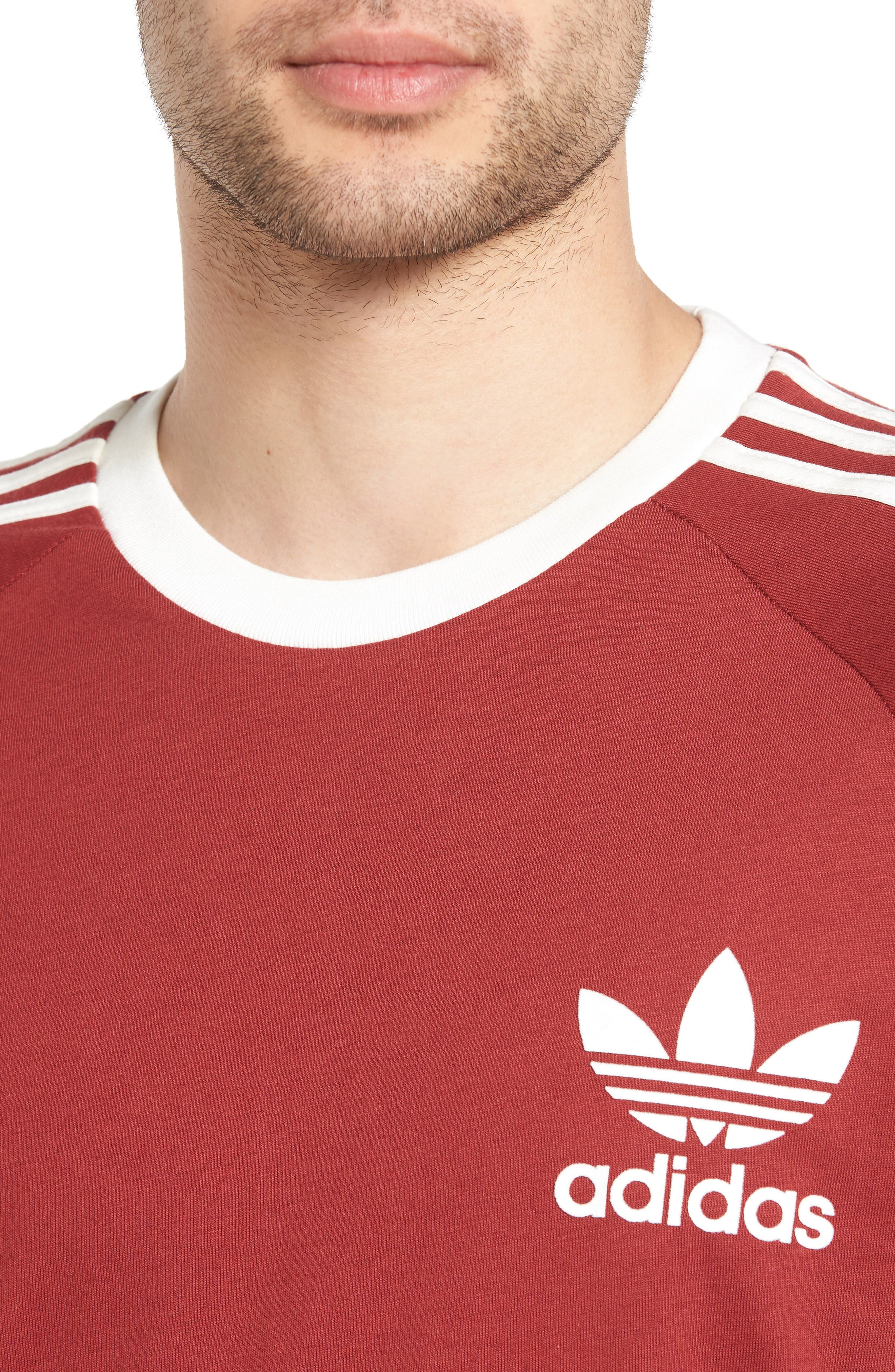 Alternate Image 4  - adidas Originals 'California' Raglan Crewneck T-Shirt