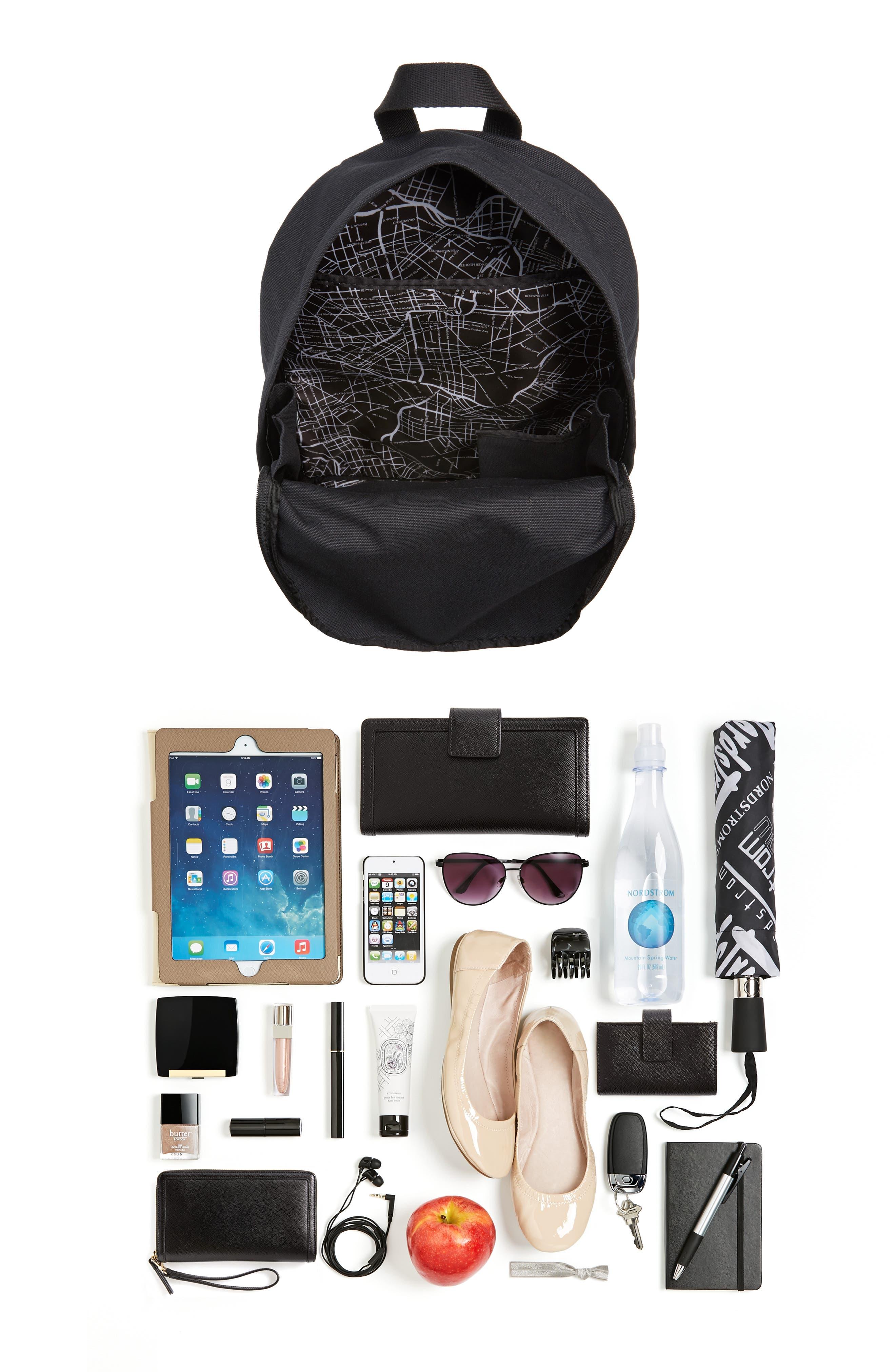 Alternate Image 7  - STATE Bags Canvas Slim Lorimer Backpack