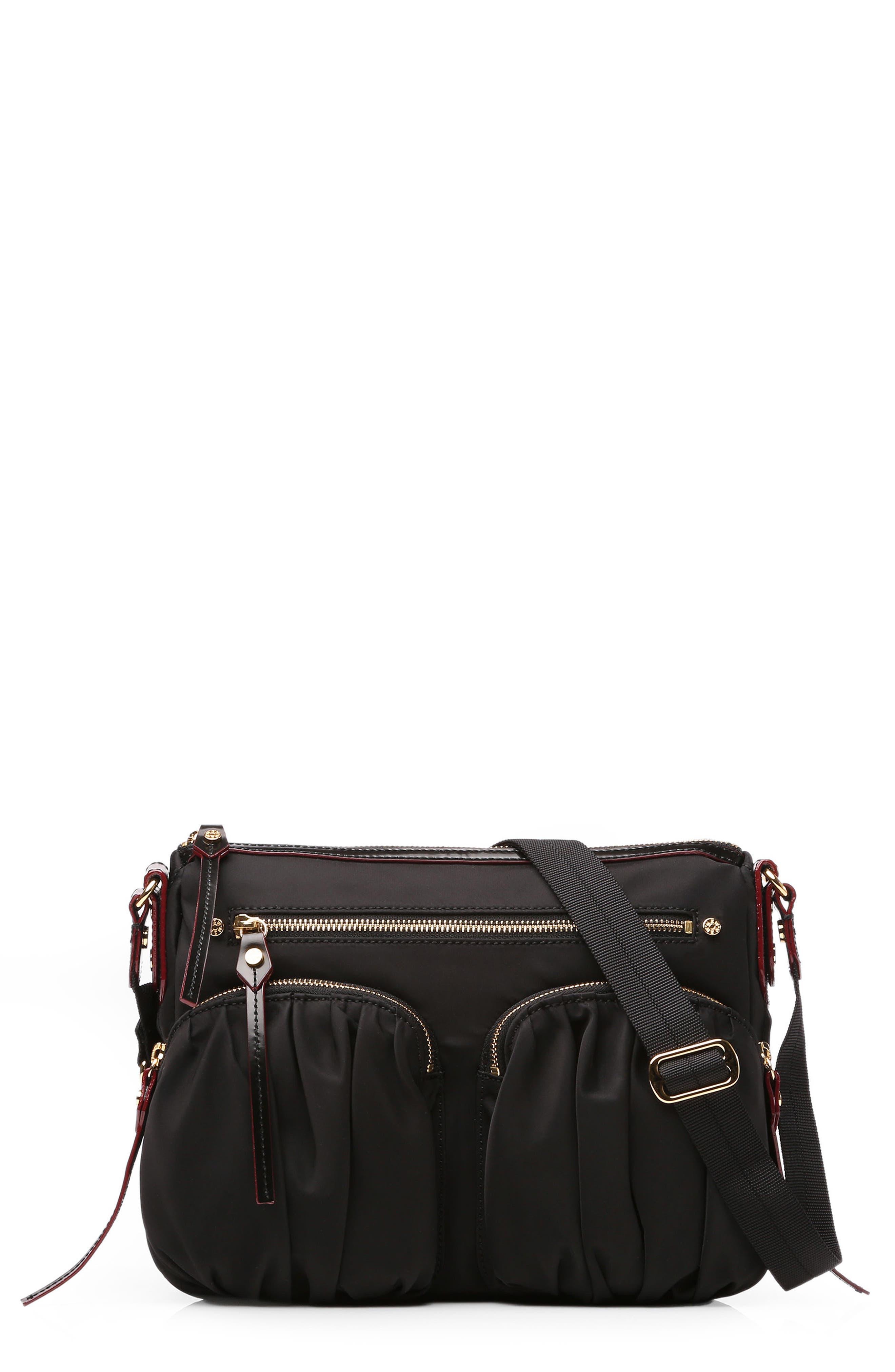 MZ Wallace 'Paige' Bedford Nylon Crossbody Bag