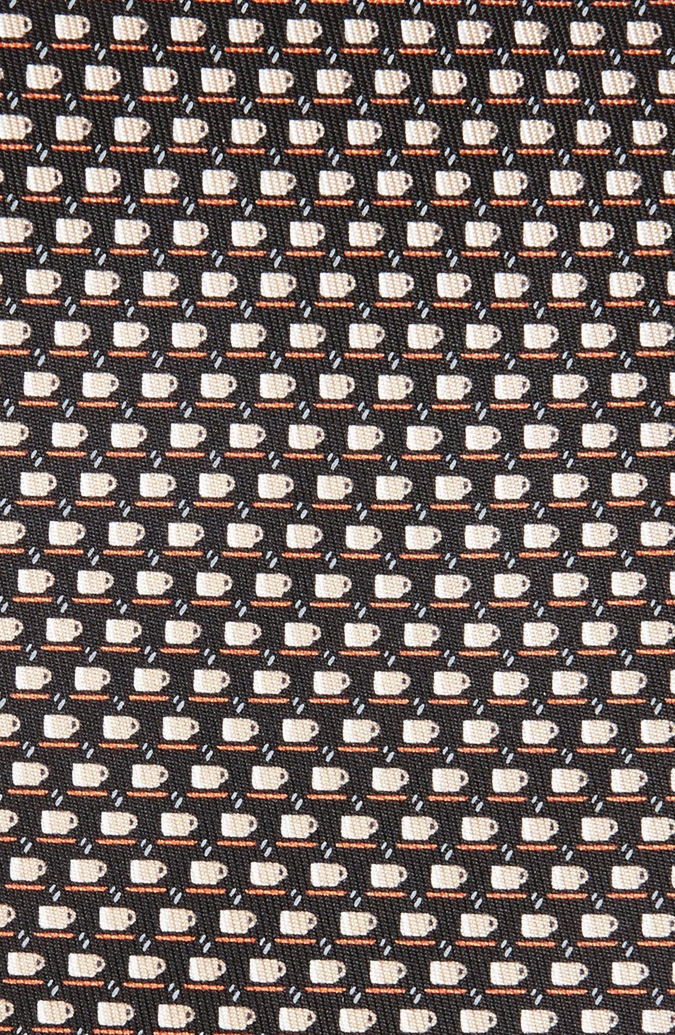 Alternate Image 2  - Salvatore Ferragamo Coffee Cup Print Silk Tie
