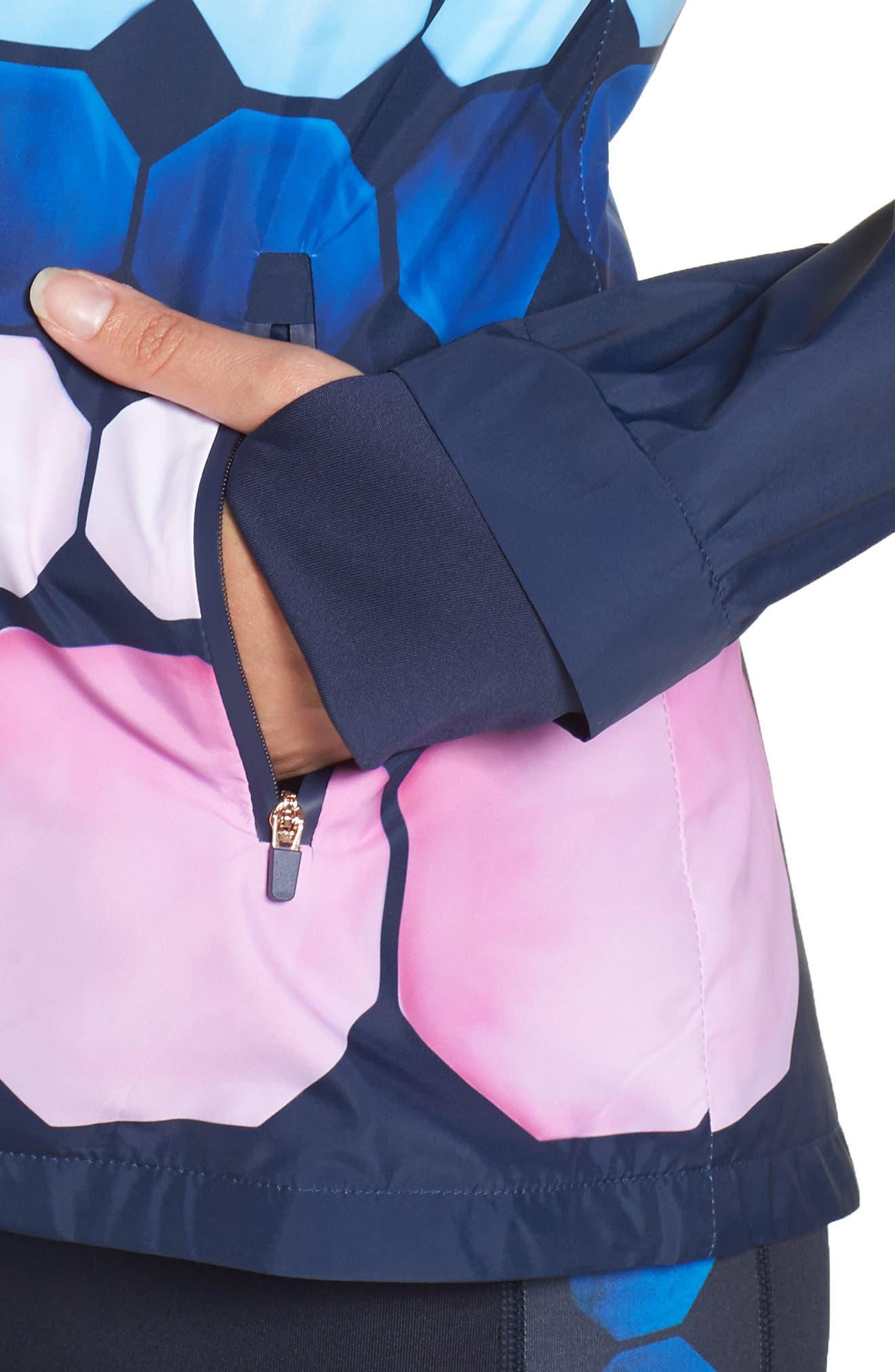 Alternate Image 4  - Ted Baker London Marina Mosaic Hooded Jacket