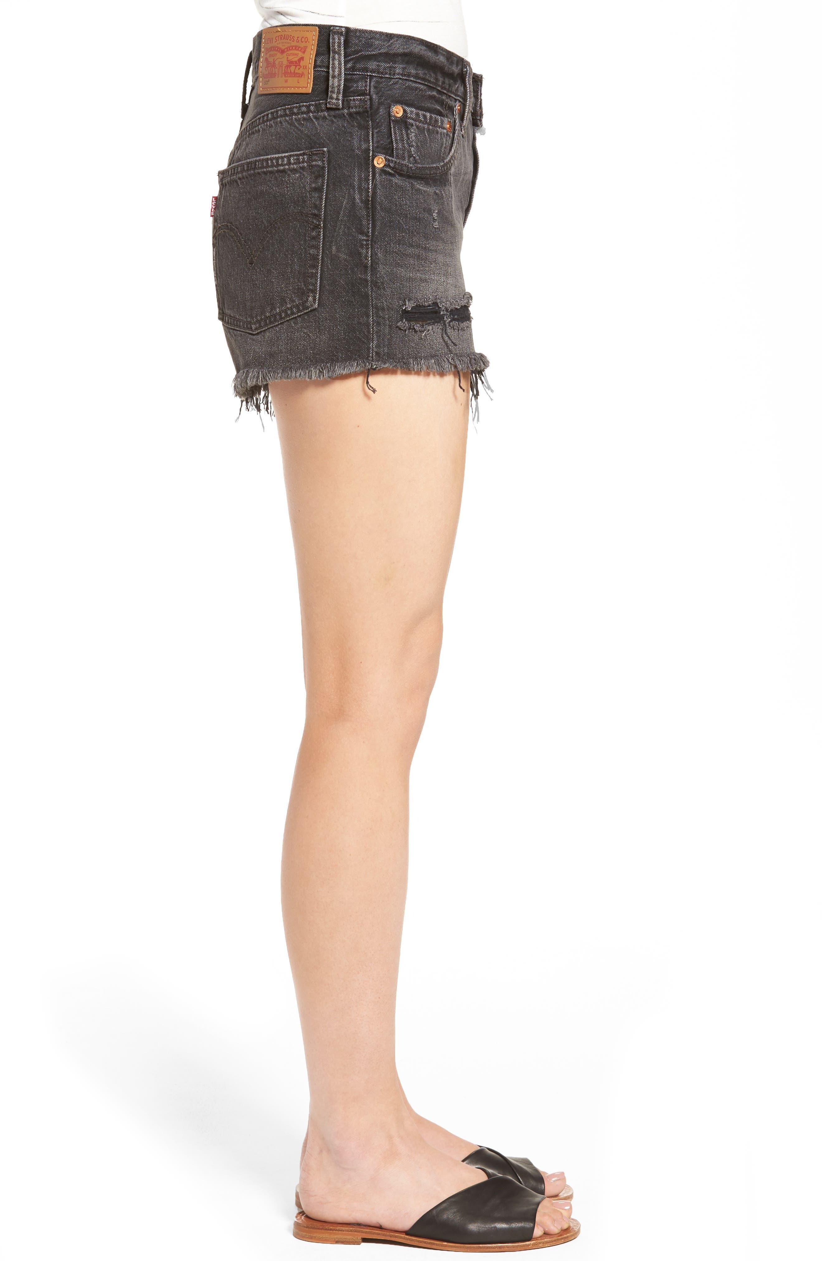 Alternate Image 3  - Levi's® 501® Cutoff Denim Shorts