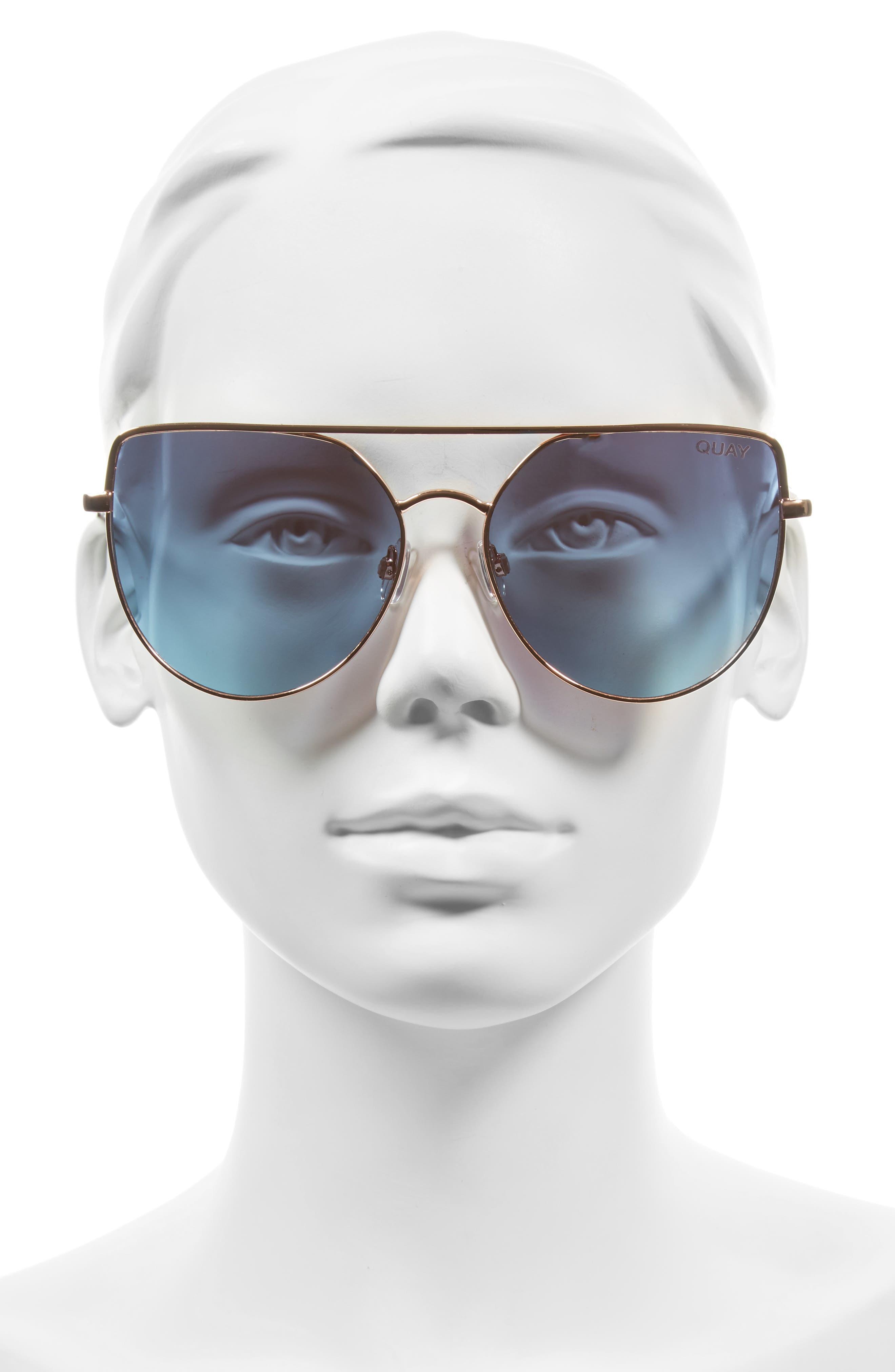 Alternate Image 2  - Quay Australia x Jasmine Sanders Santa Fe 65mm Aviator Sunglasses