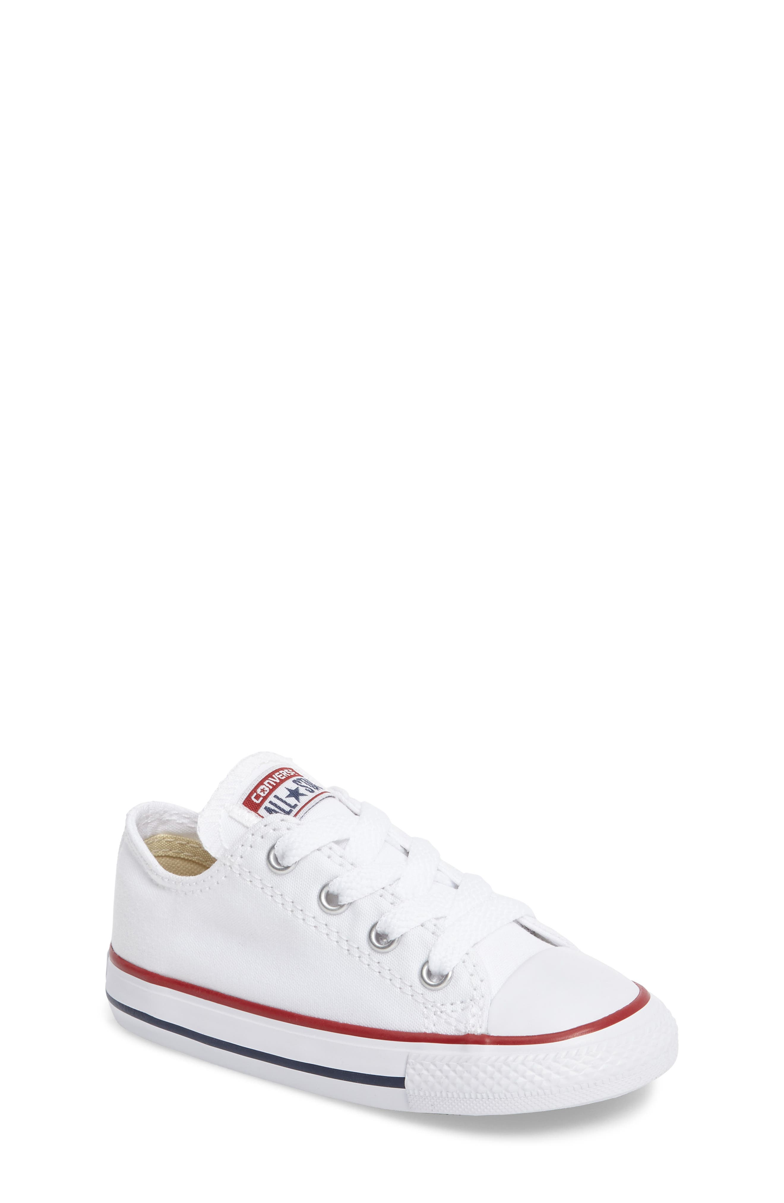 converse shoes for girls white. converse chuck taylor® low top sneaker (baby, walker \u0026 toddler) shoes for girls white o