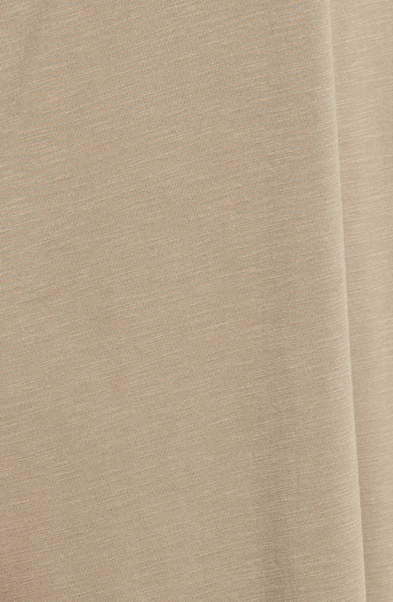 Boardwalk Convertible Jersey Dress,                             Alternate thumbnail 5, color,                             Washed Marshland