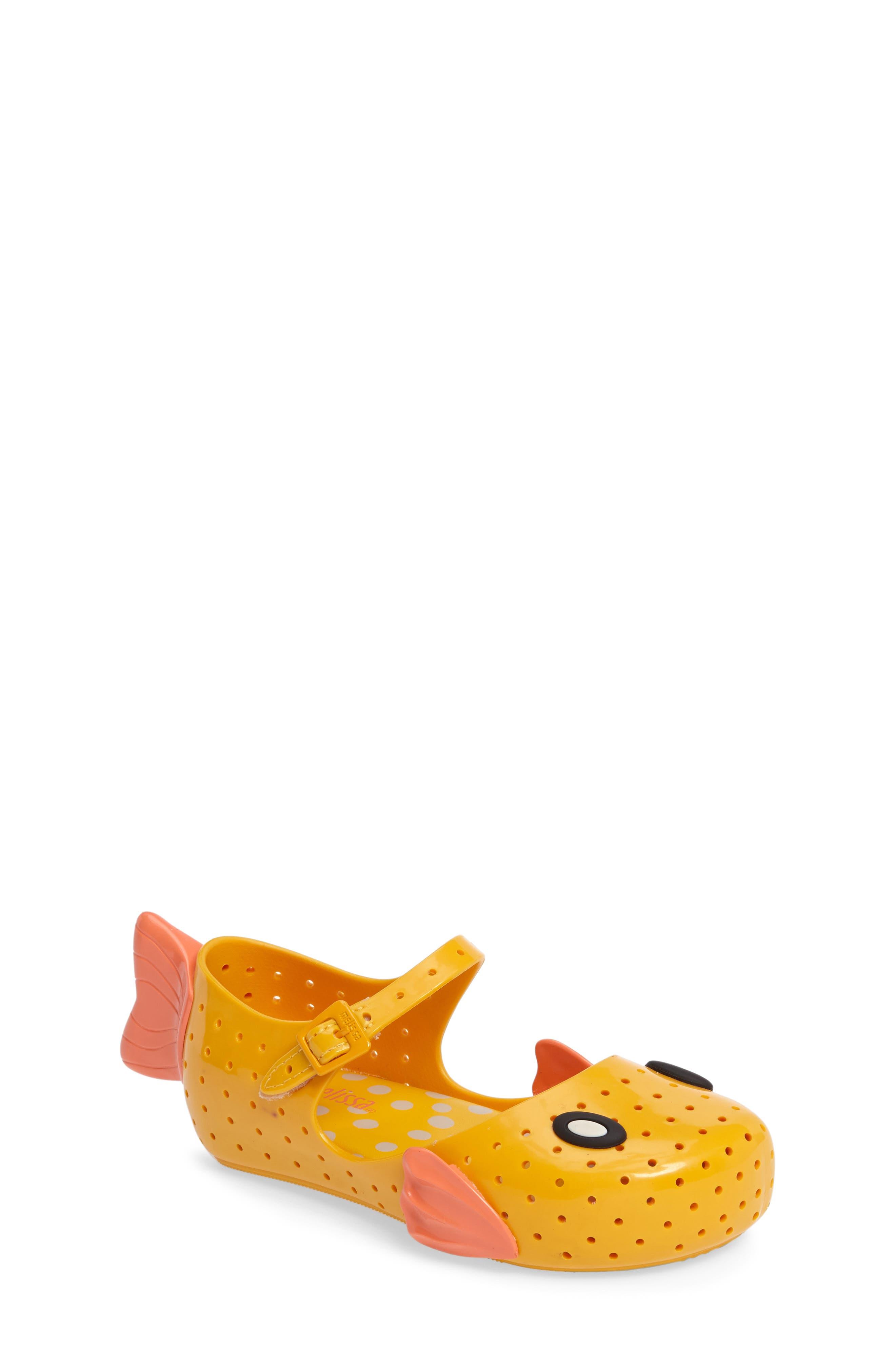 Mini Melissa Furadinha Fabula Mary Jane (Walker & Toddler)