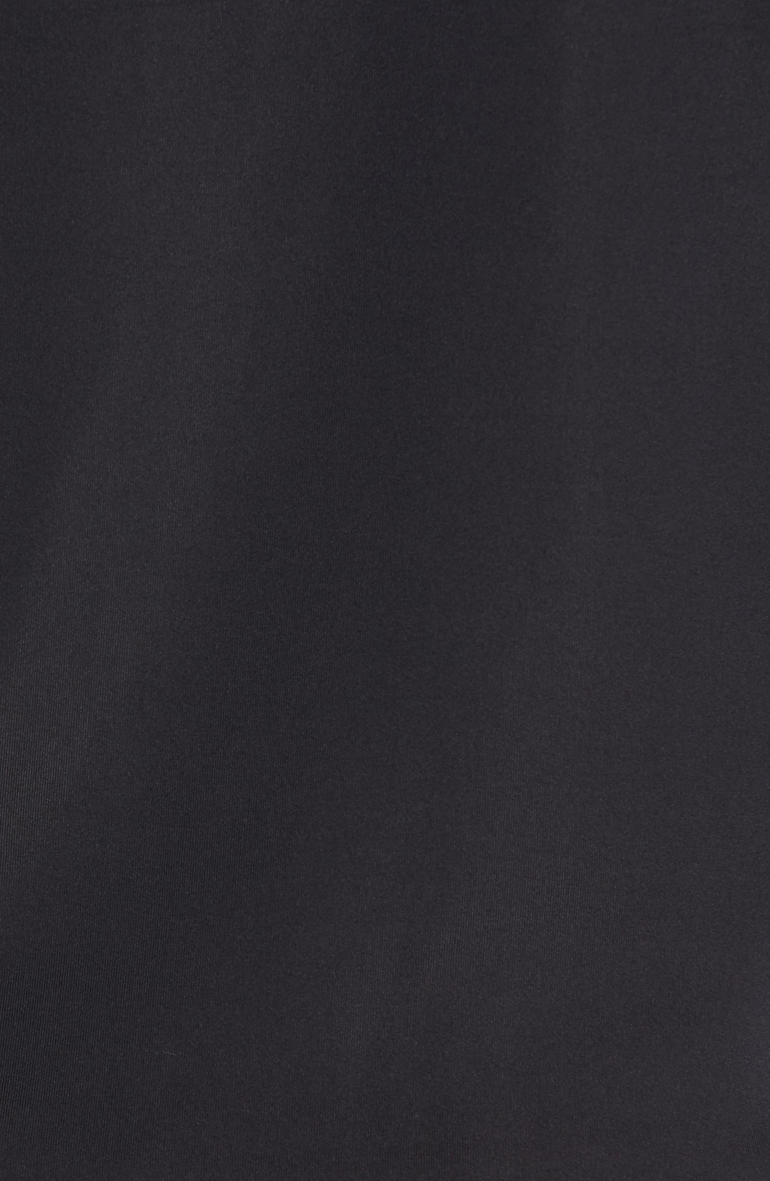 Tech Quarter Zip Pullover,                             Alternate thumbnail 5, color,                             Black