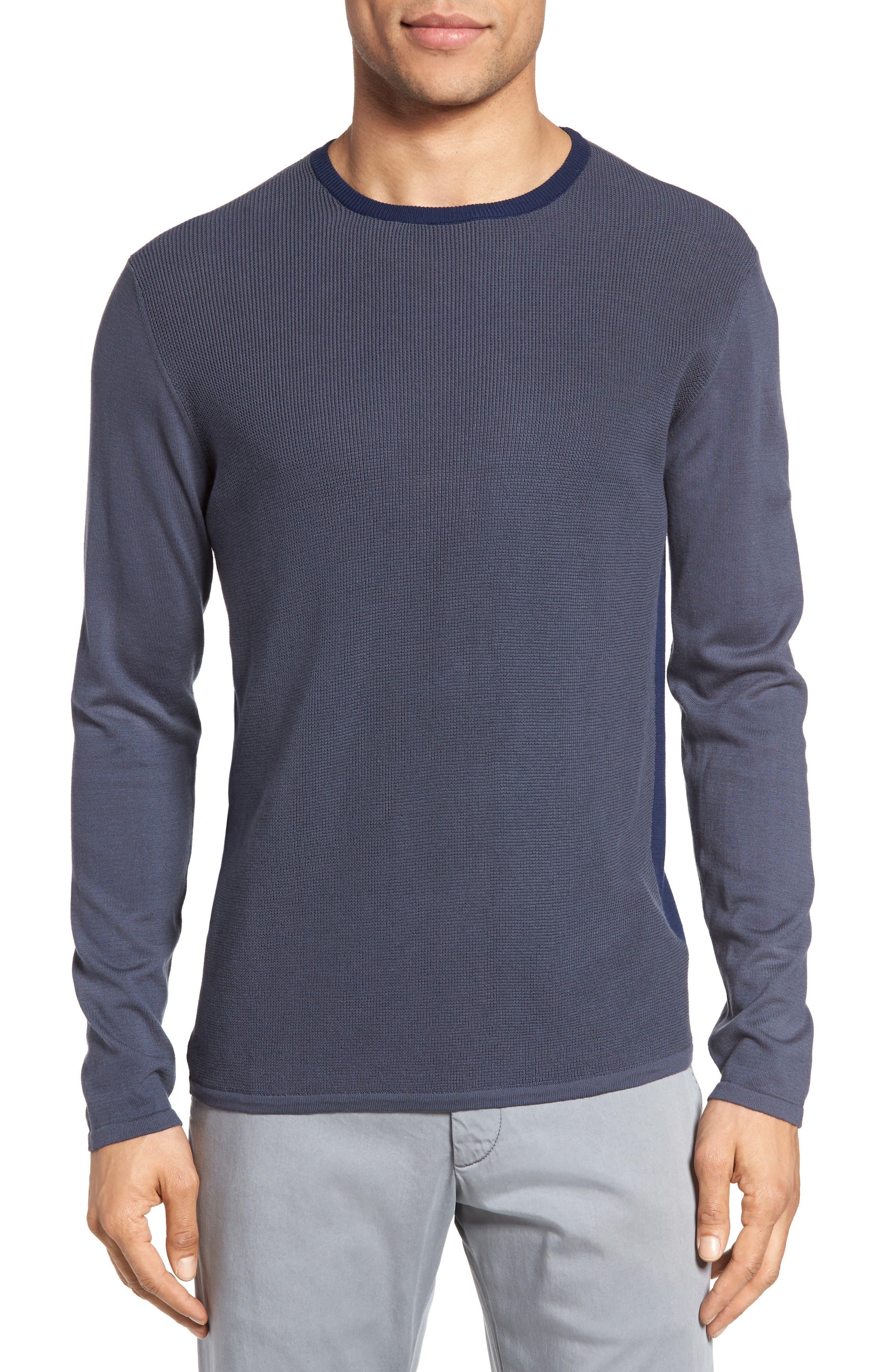 Boxwood Sweater,                         Main,                         color, Ocean