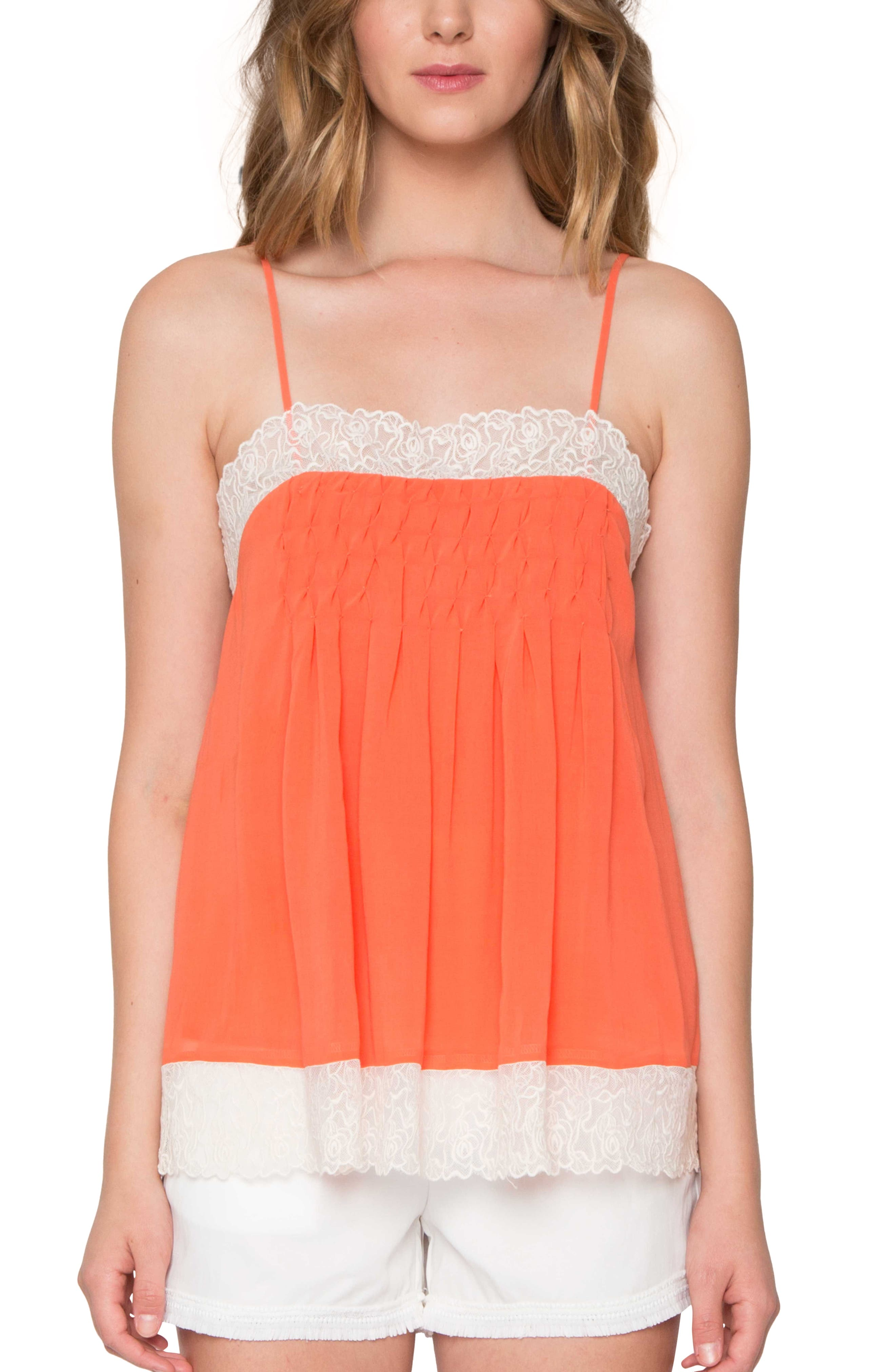 Willow & Clay Lace Trim Camisole