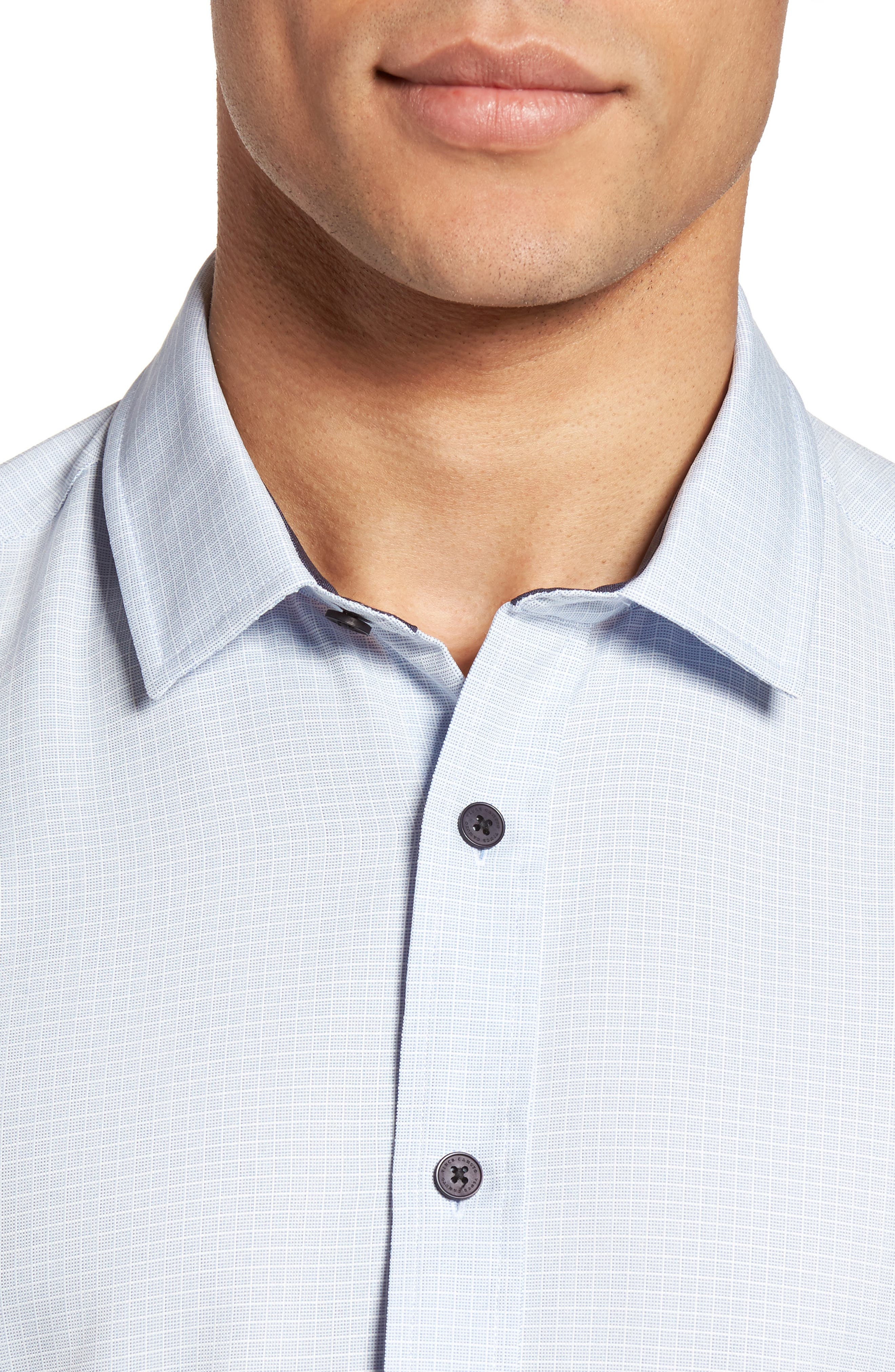 Alternate Image 4  - Vince Camuto Check Sport Shirt