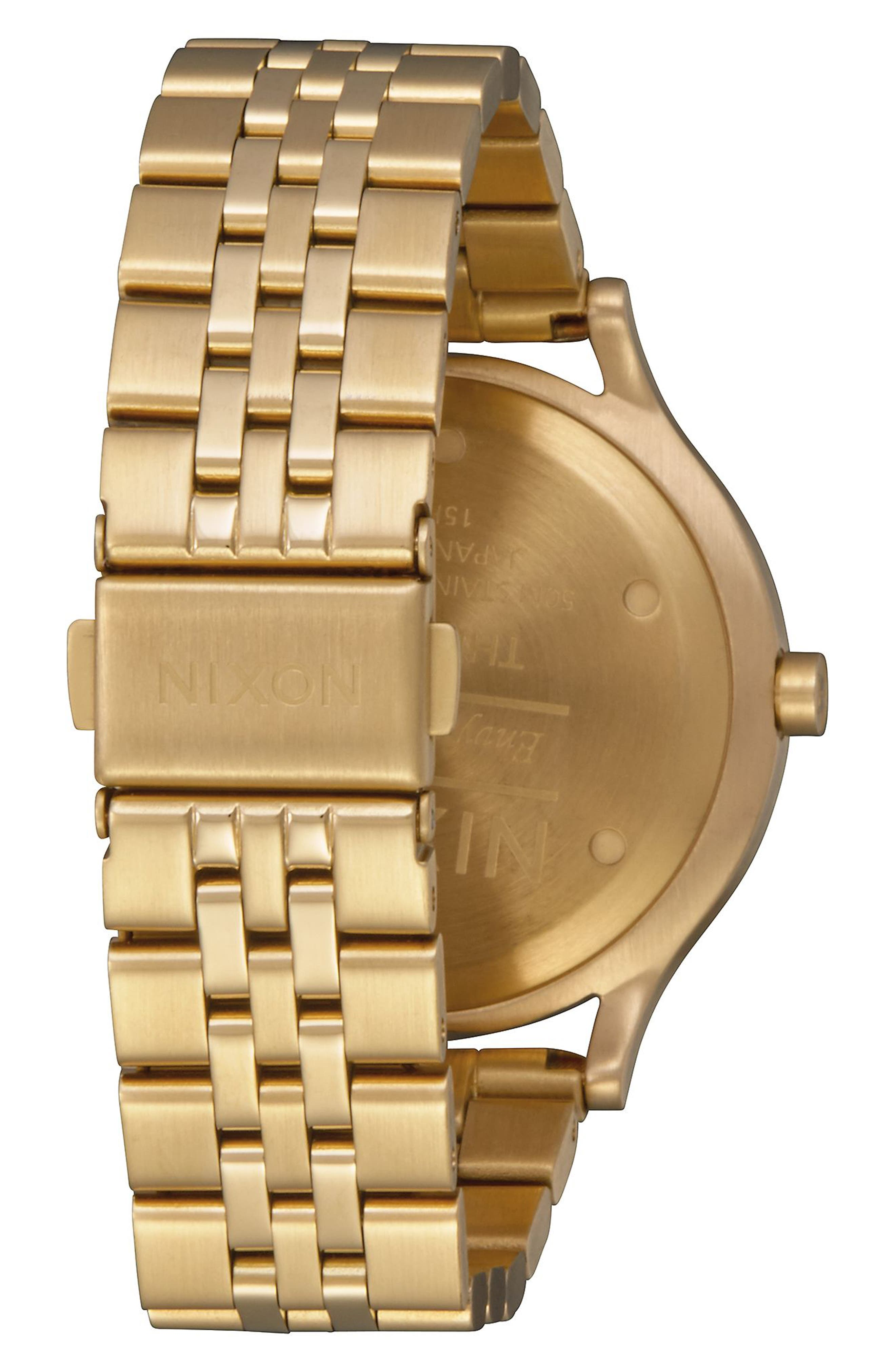 Sala Bracelet Watch, 38mm,                             Alternate thumbnail 2, color,                             Gold/ White/ Gold