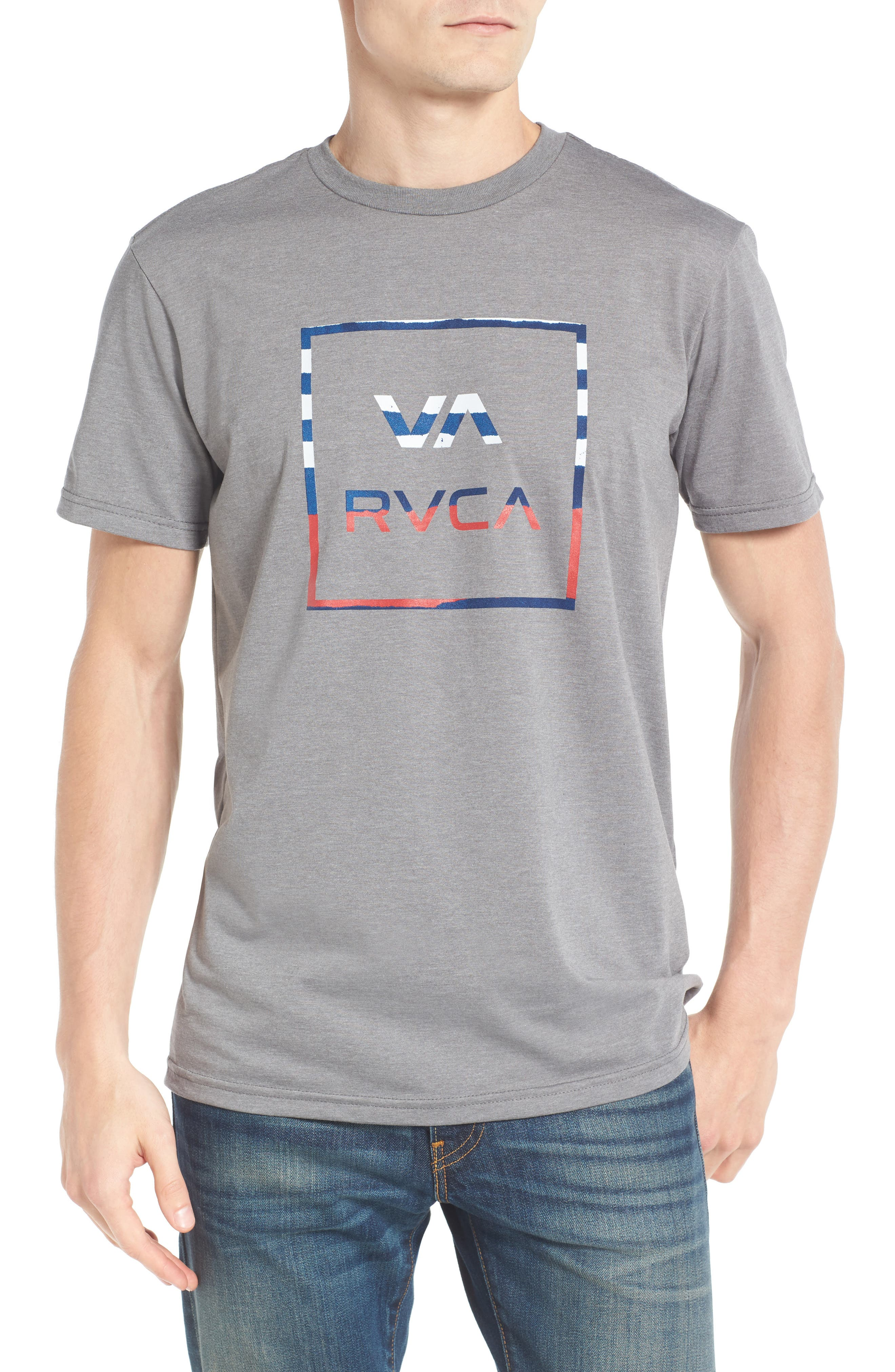 Alternate Image 1 Selected - RVCA VA All The Way Graphic T-Shirt