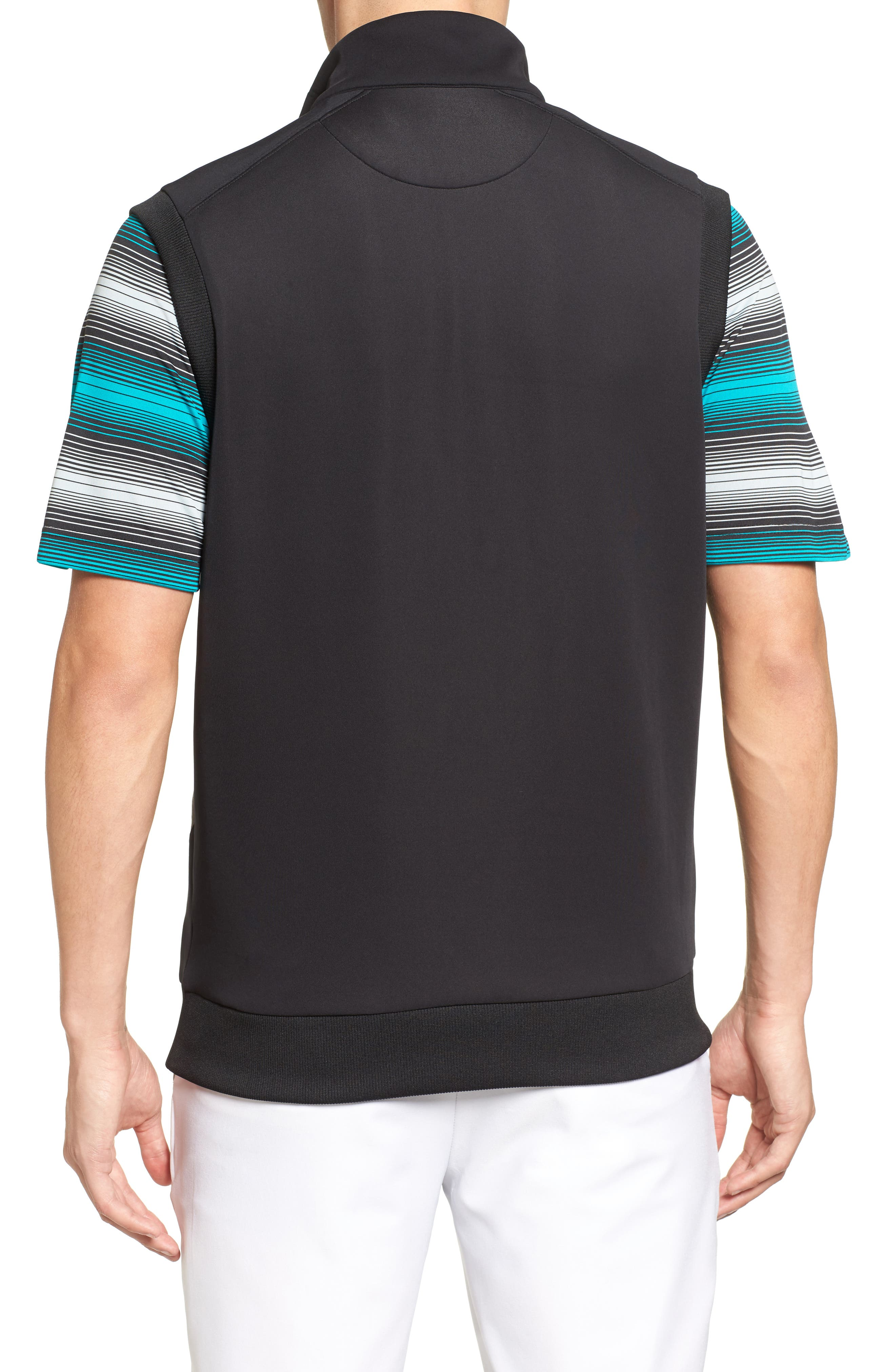 Alternate Image 2  - Bobby Jones Rule 18 Tech Quarter Zip Vest