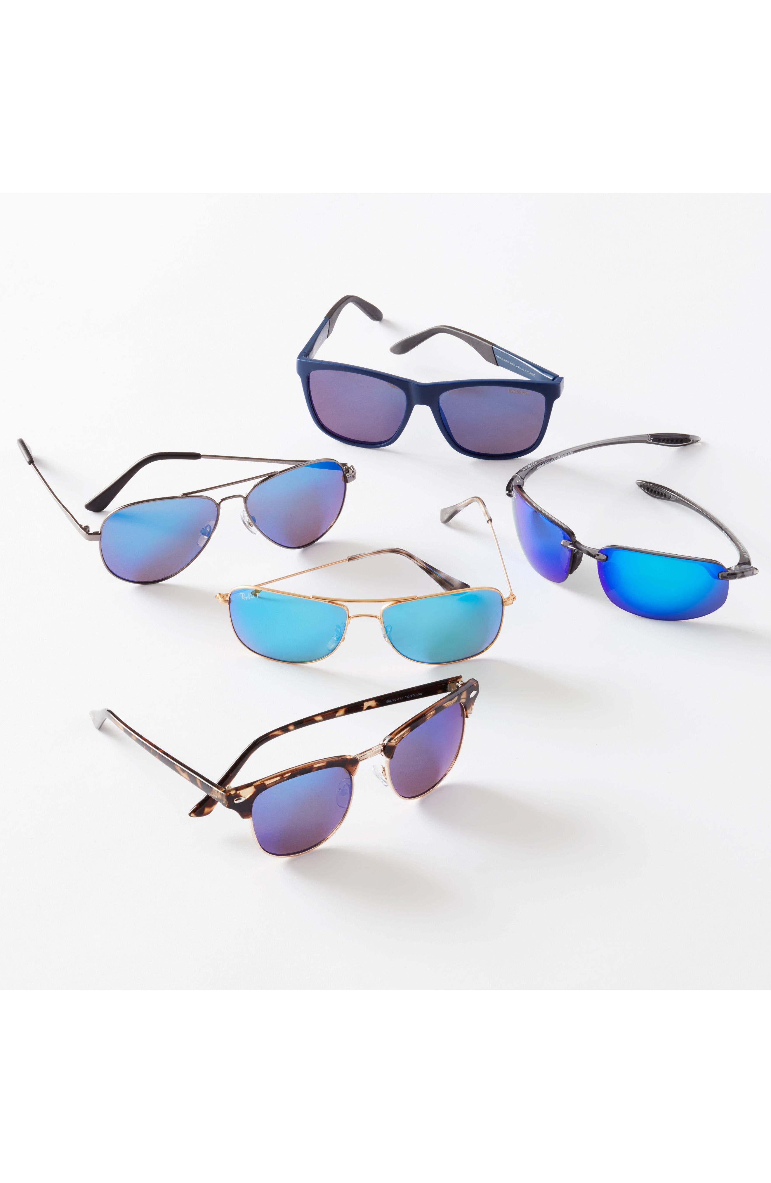 Alternate Image 2  - Ray-Ban 59mm Polarized Aviator Sunglasses