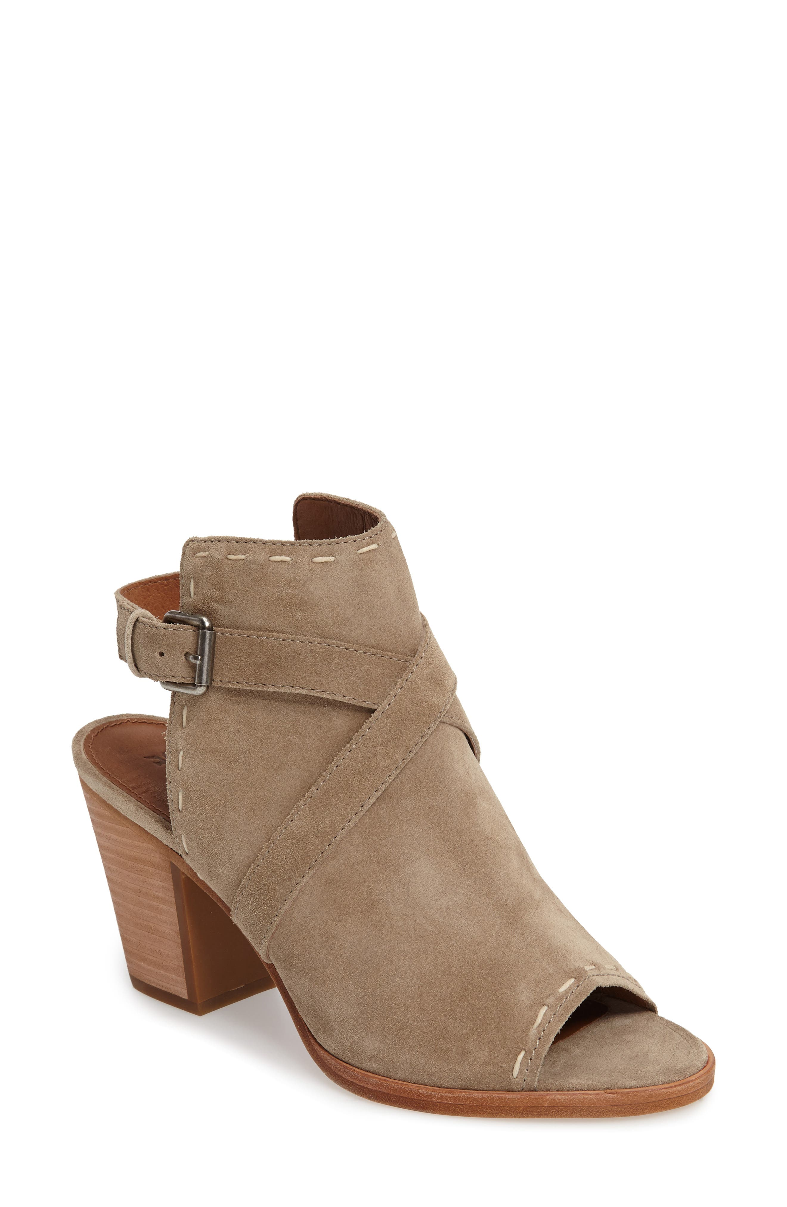 Alternate Image 1 Selected - Frye Dani Peep Toe Bootie (Women)