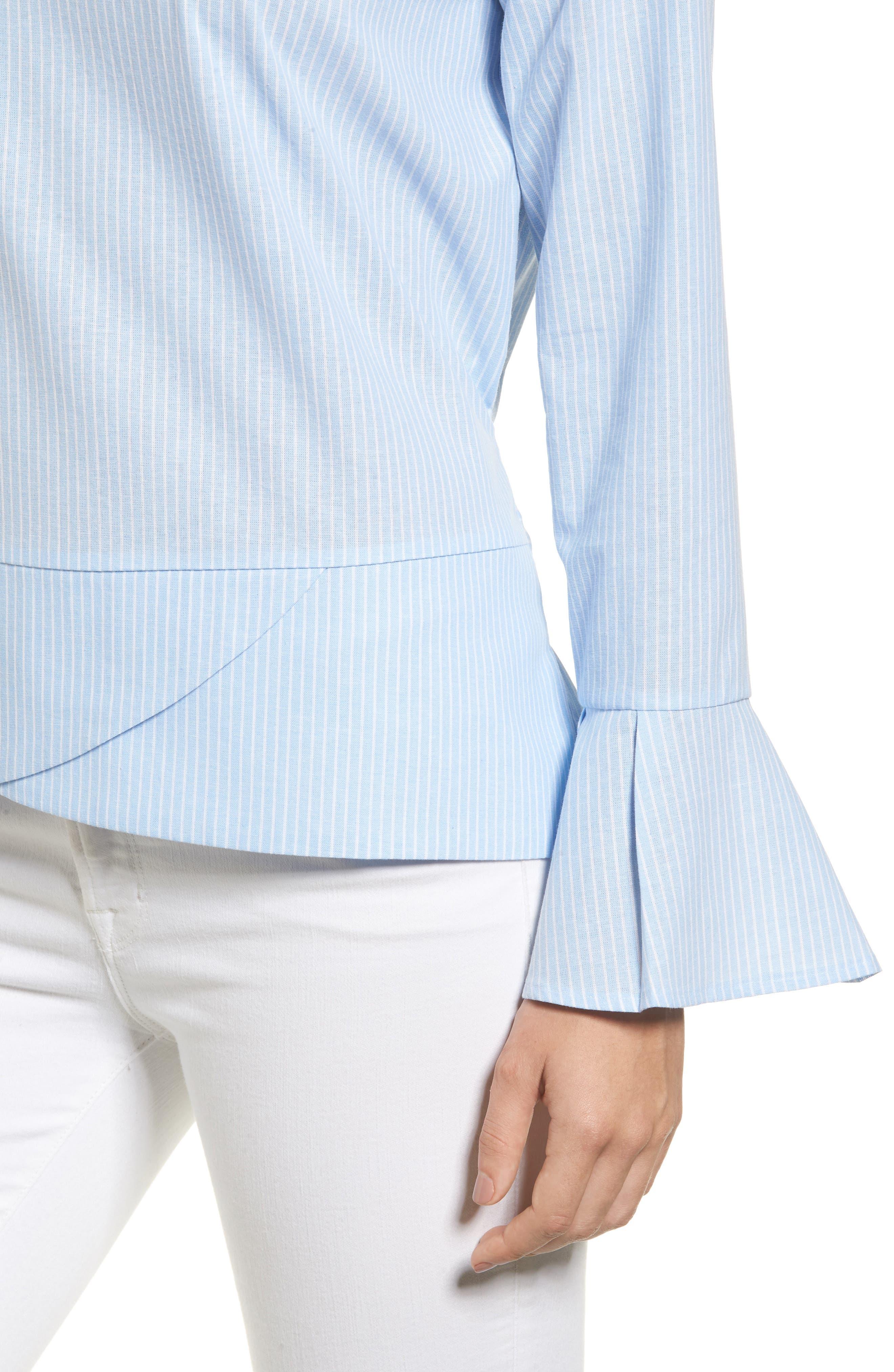 Alternate Image 4  - Pleione Tie Back Wrap Blouse